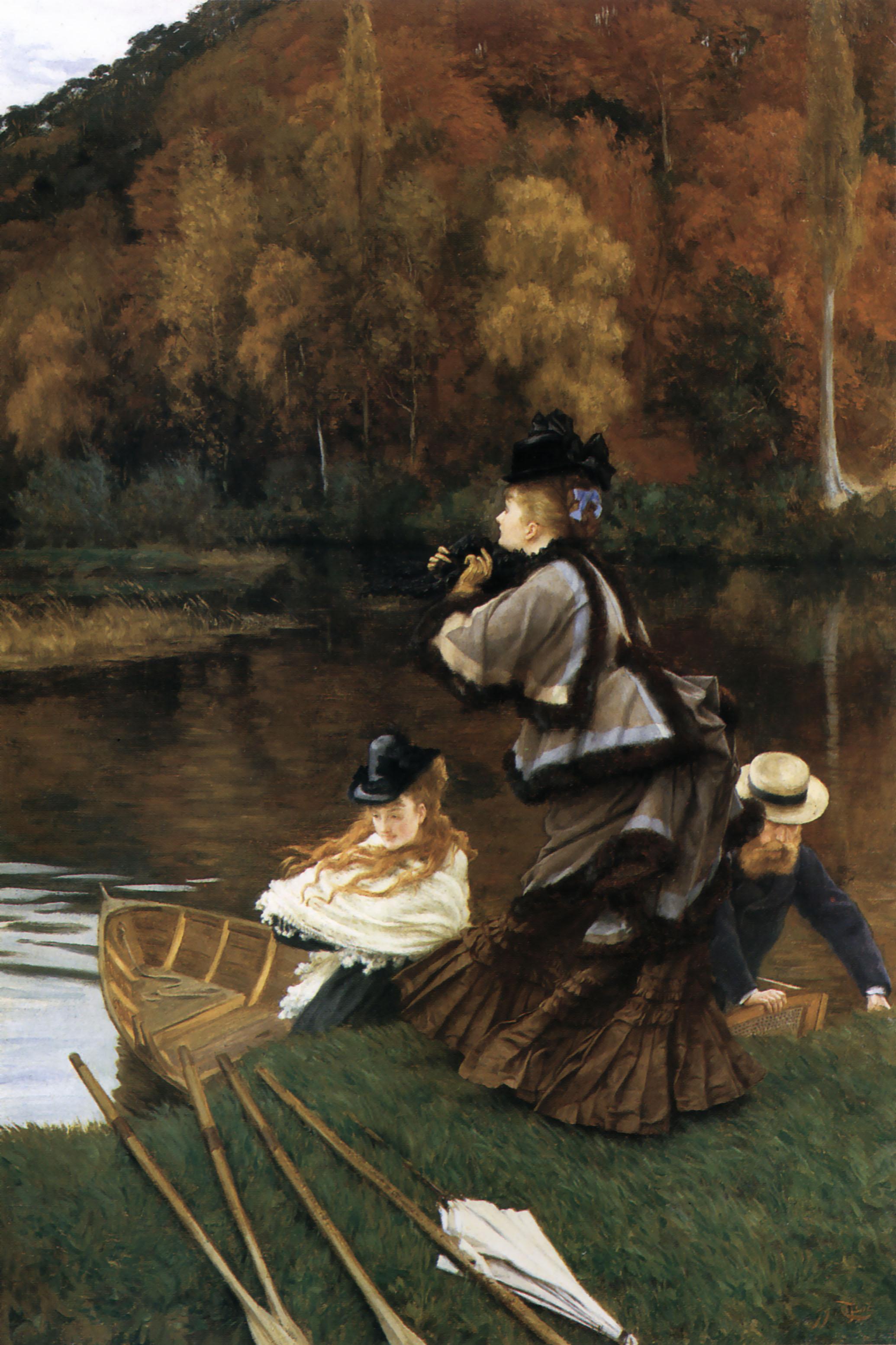 James Tissot, Autumn on the Thames