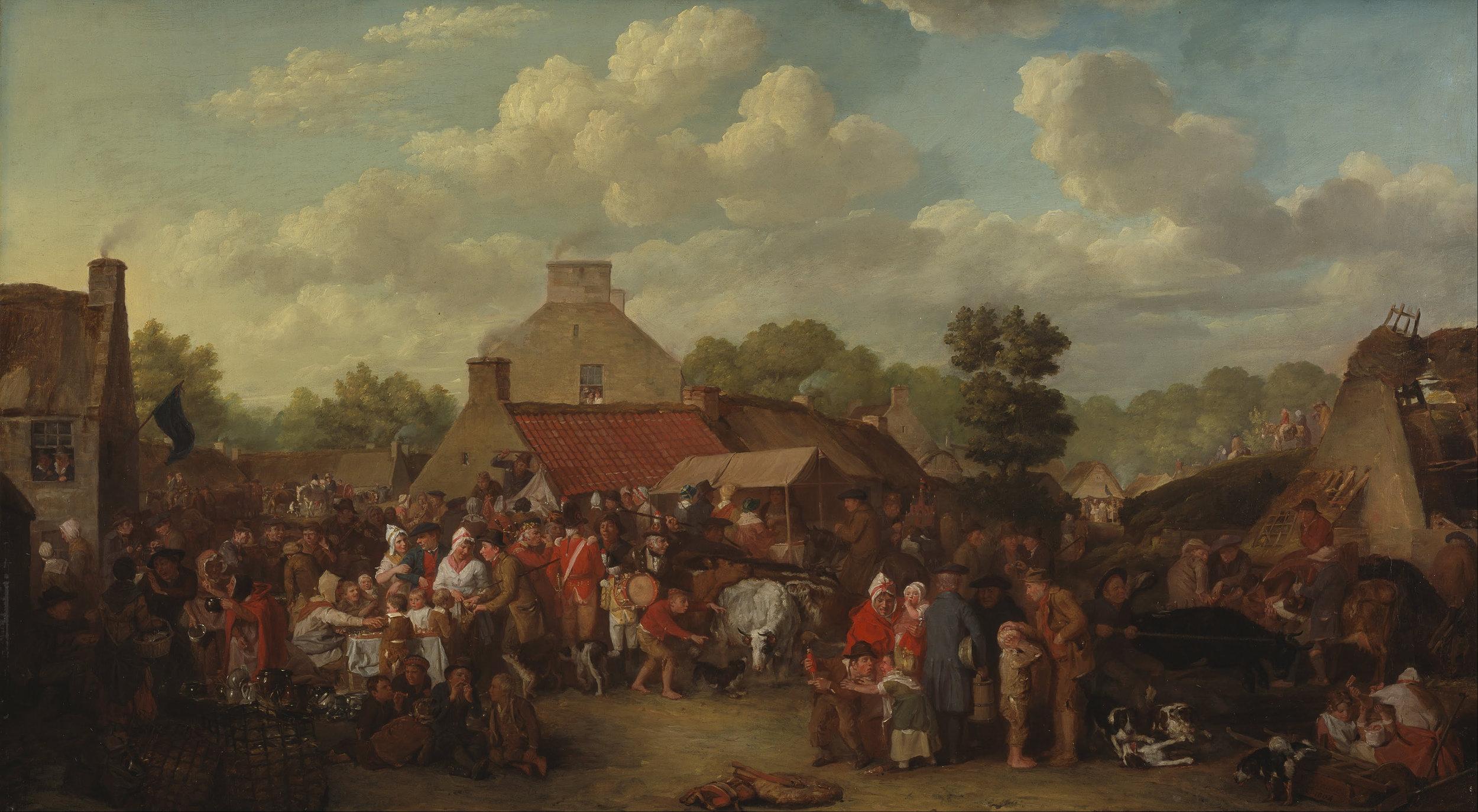 Sir David Wilkie,Pitlessie Fair
