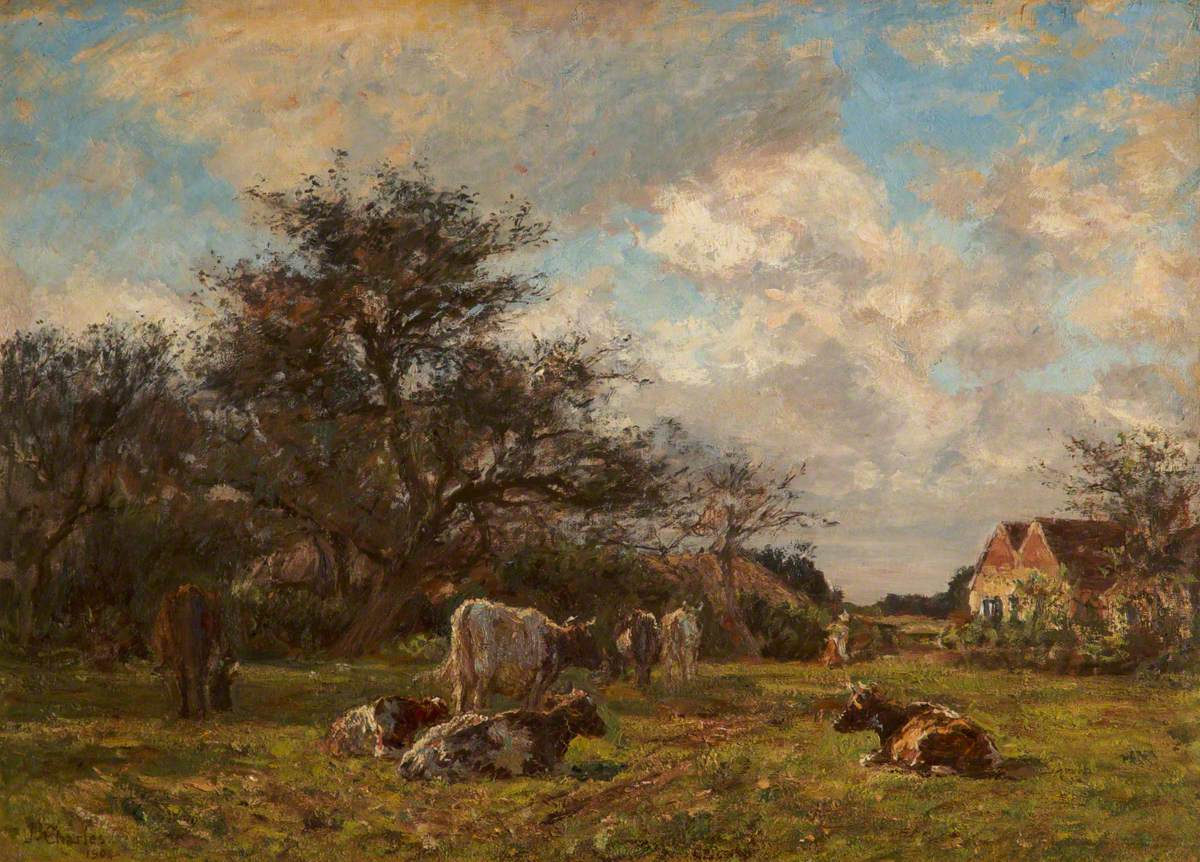 James Charles, On a Sussex Farm