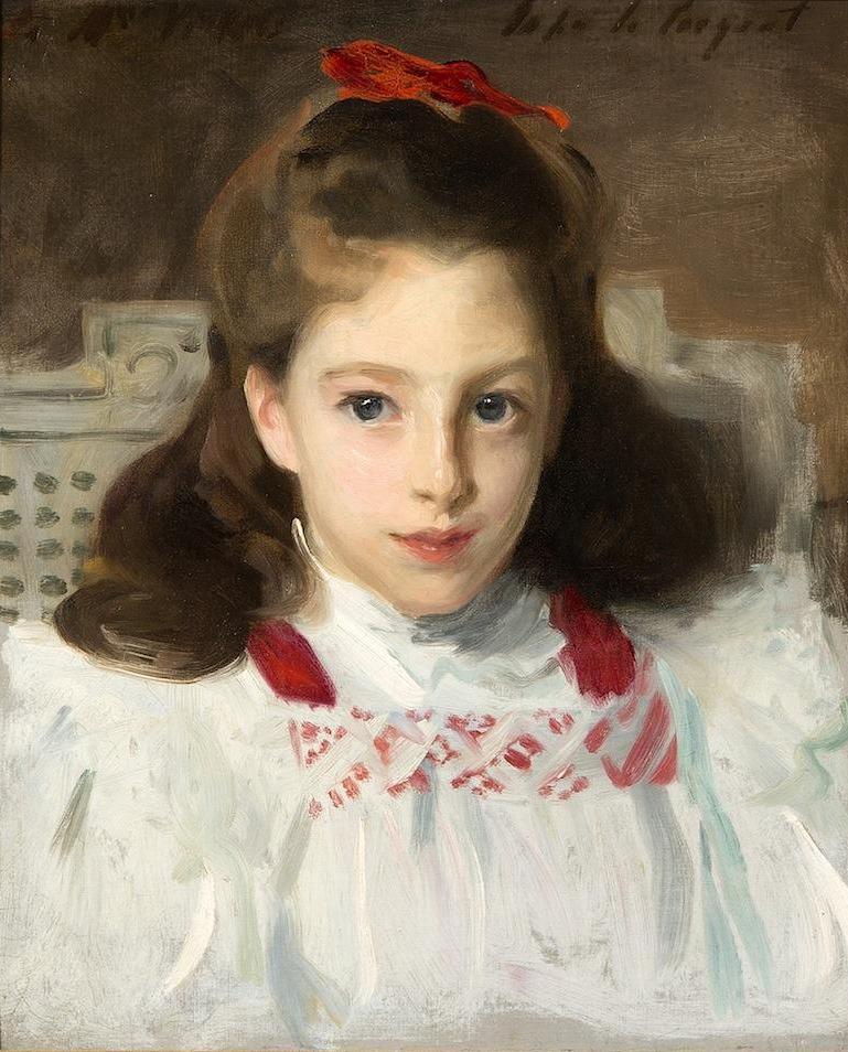 John Singer Sargent, Portrait of Miss Dorothy Vickers