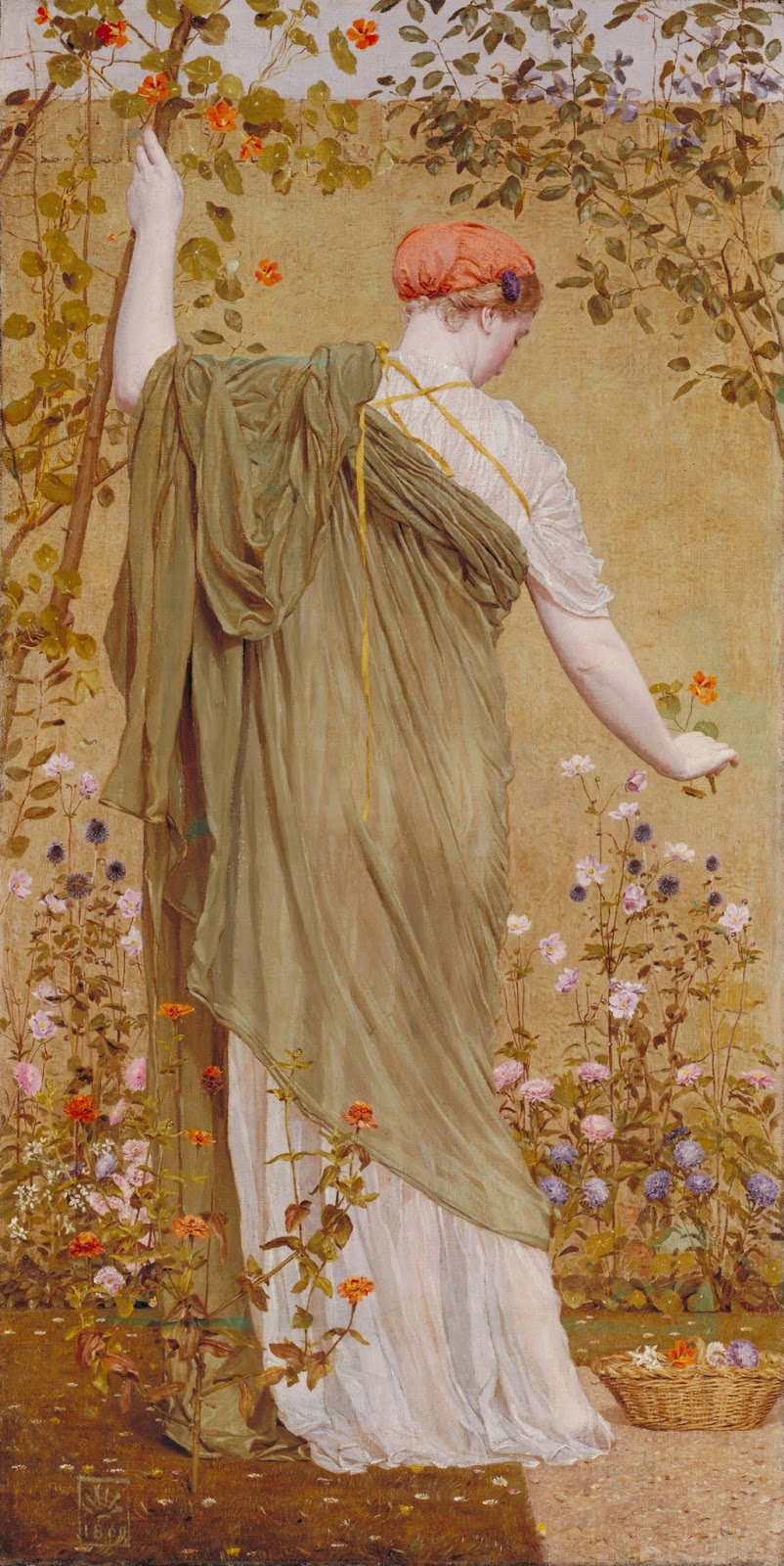 Albert Joseph Moore,A Garden
