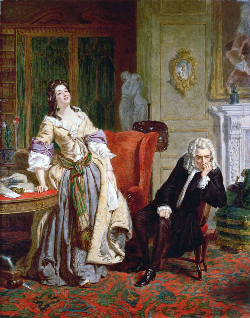 William Powell Frith,The Rejected Poet