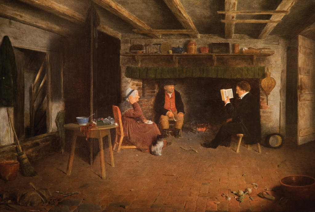 Frederick Daniel Hardy, The Clergyman's Visit