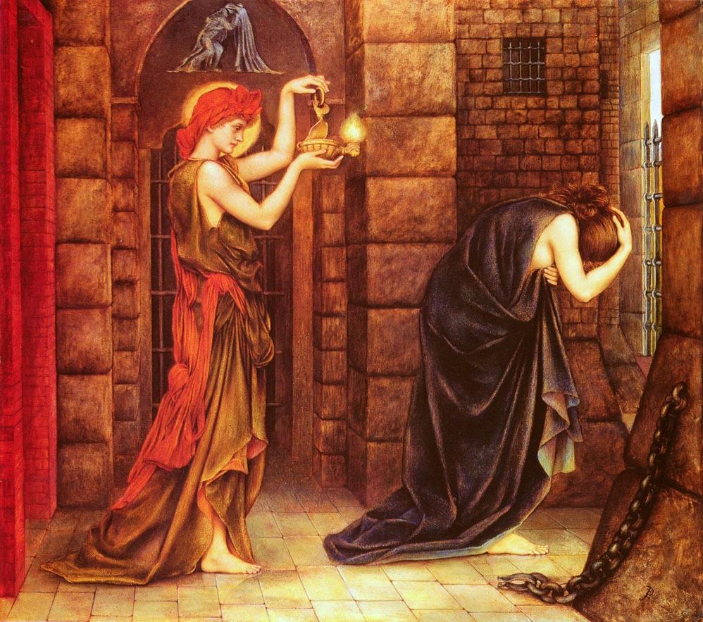 Evelyn De Morgan,Hope in the Prison of Despair