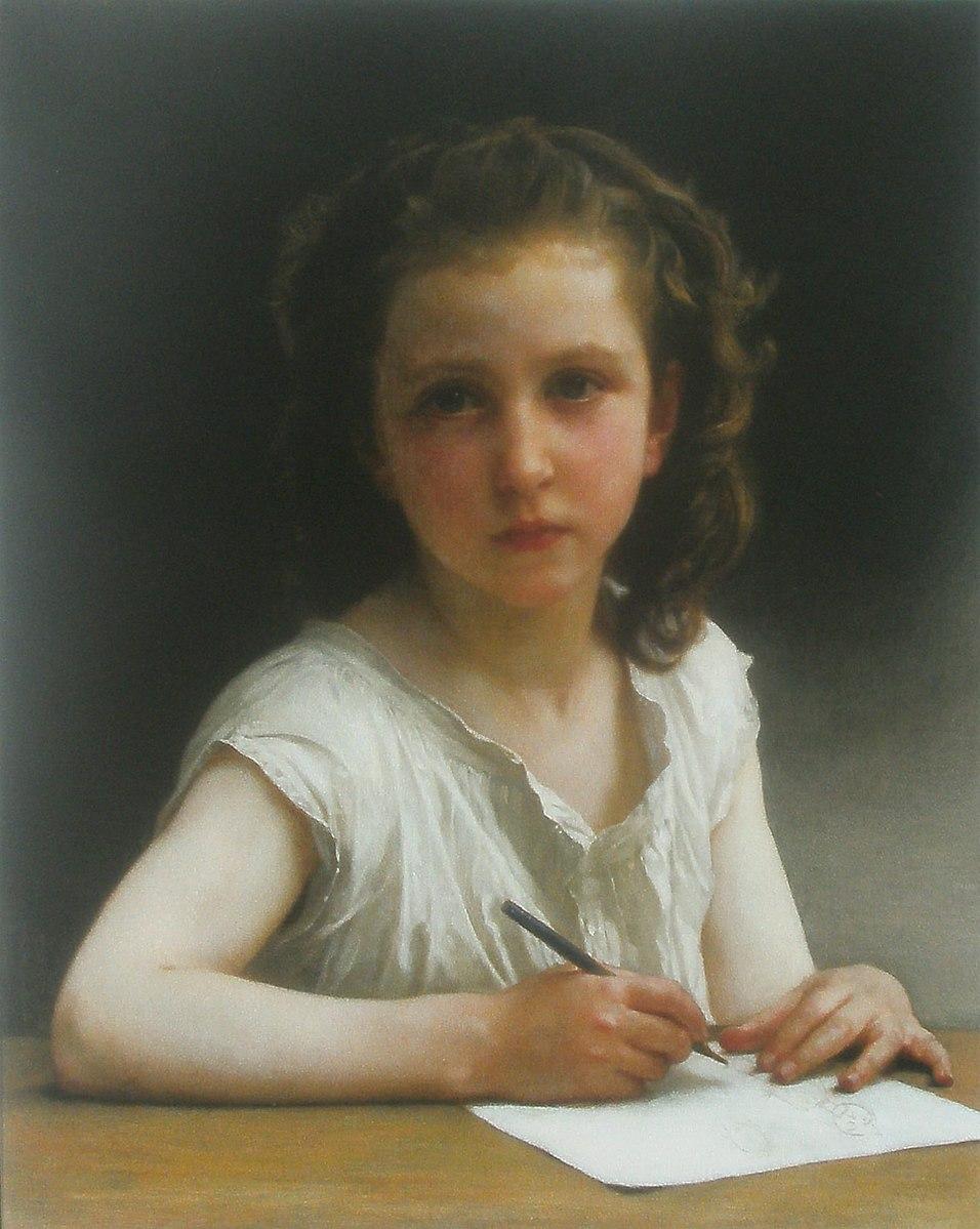 William-Adolphe Bouguereau, Une Vocation