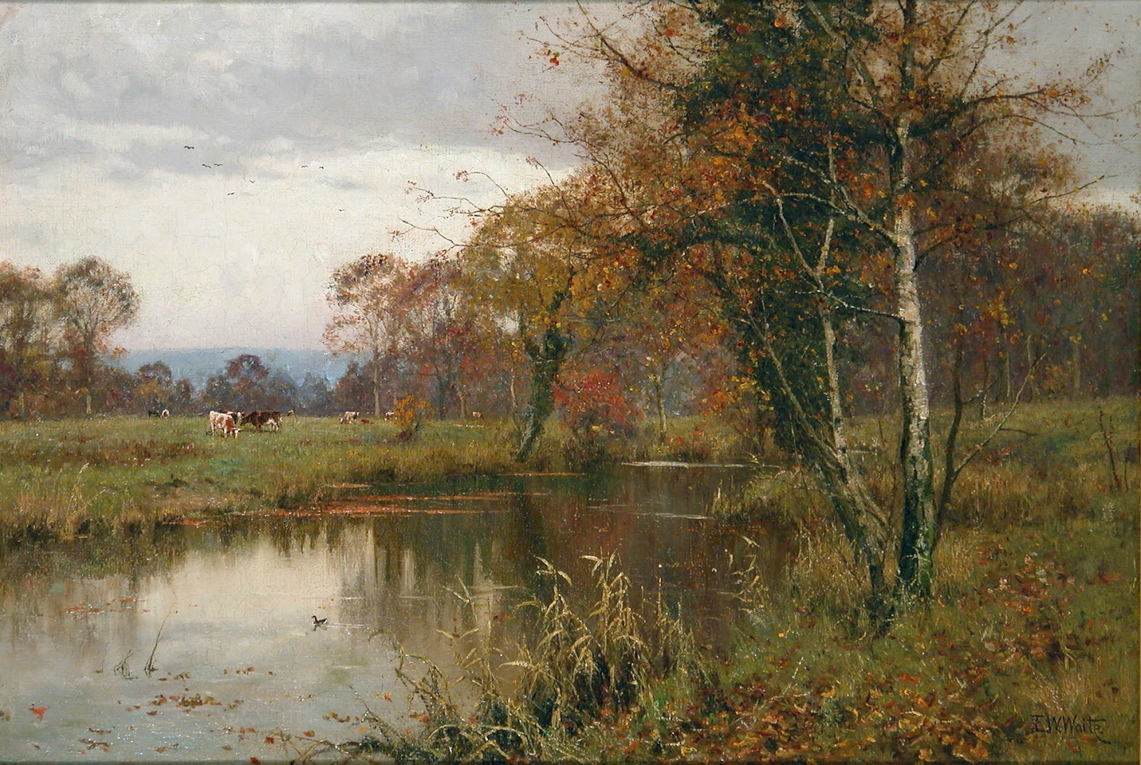 Edward Wilkins Waite, Autumn