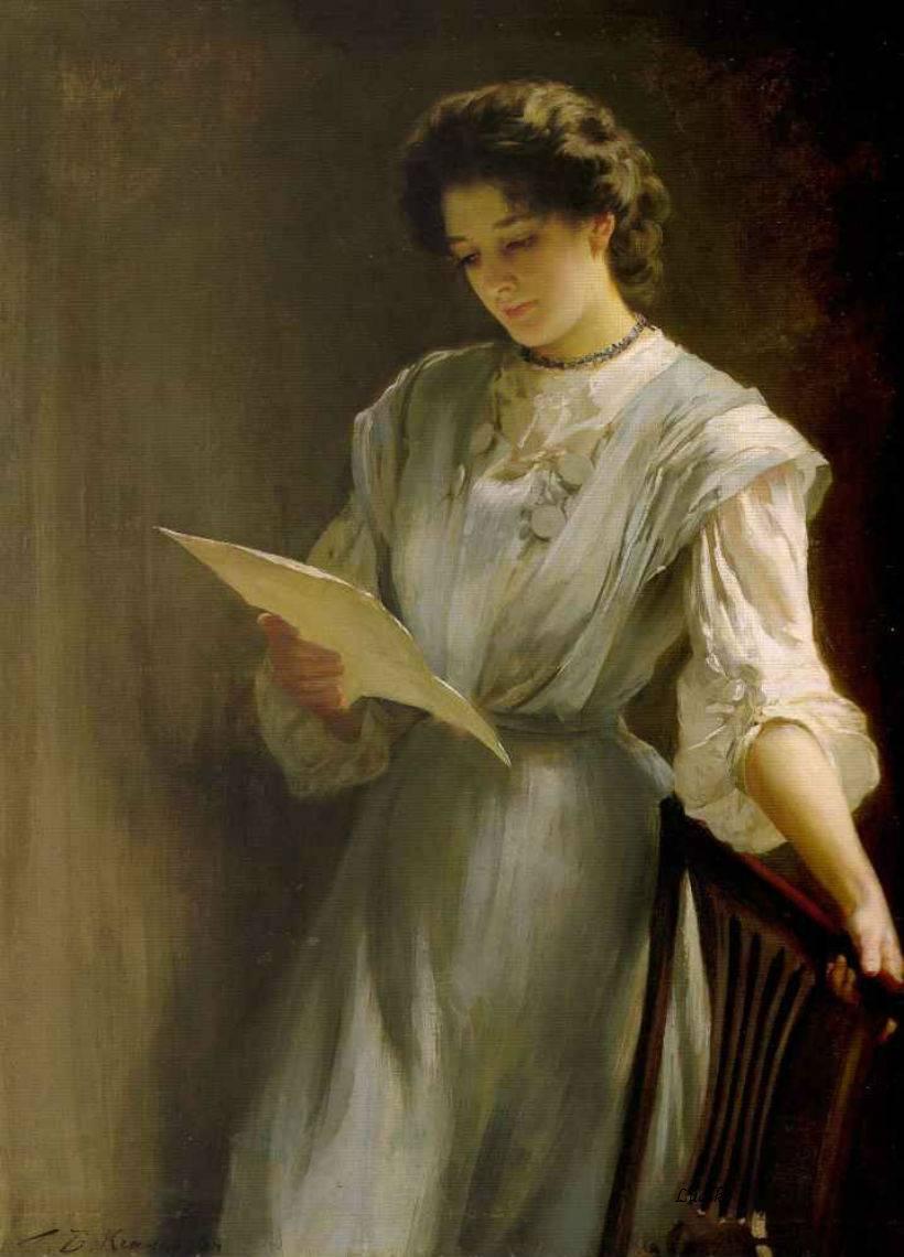 Thomas Benjamin Kennington, Reading the Letter