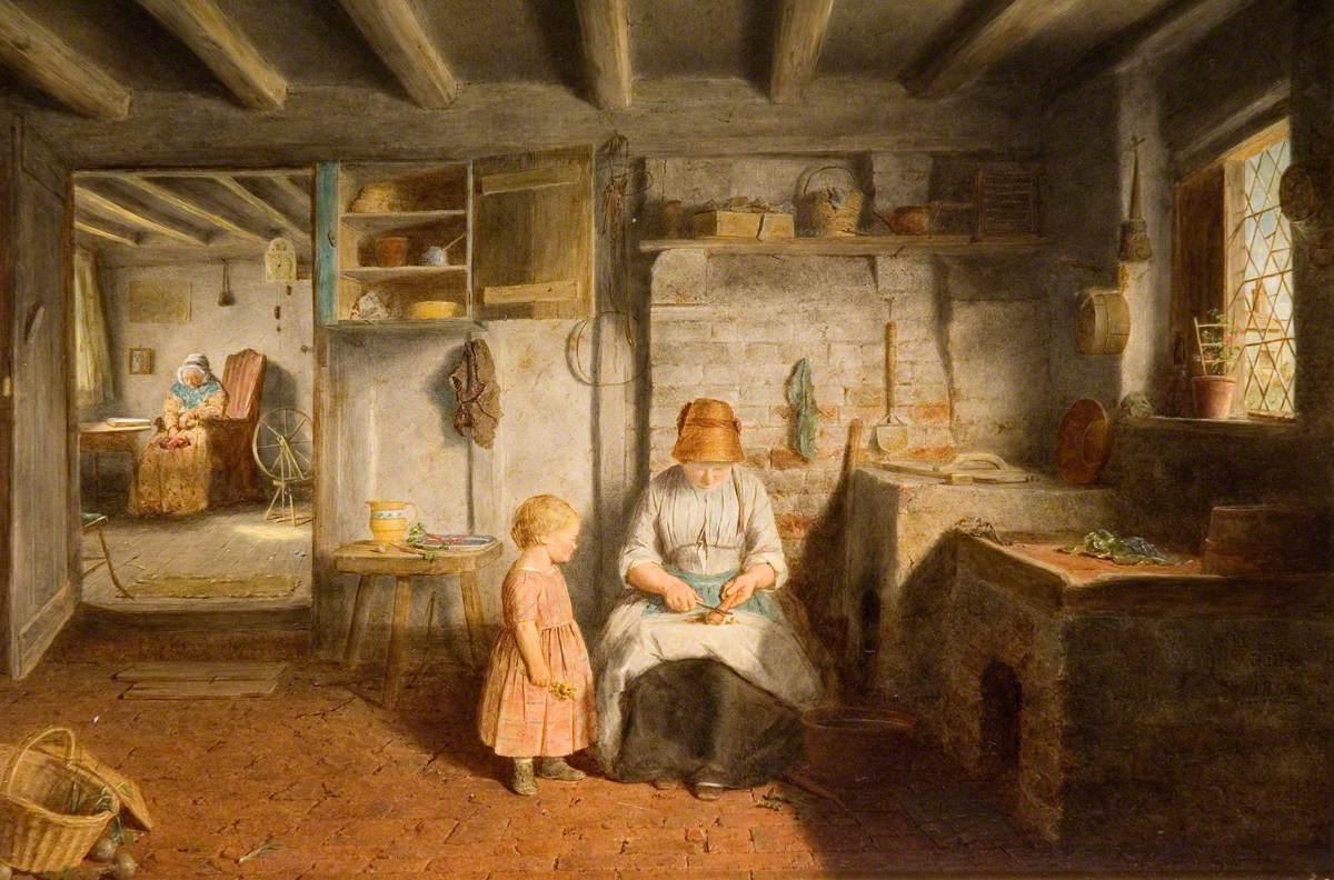 Frederick Daniel Hardy, Preparing for Dinner