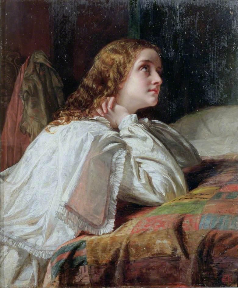 Alfred Elmore, Supplication