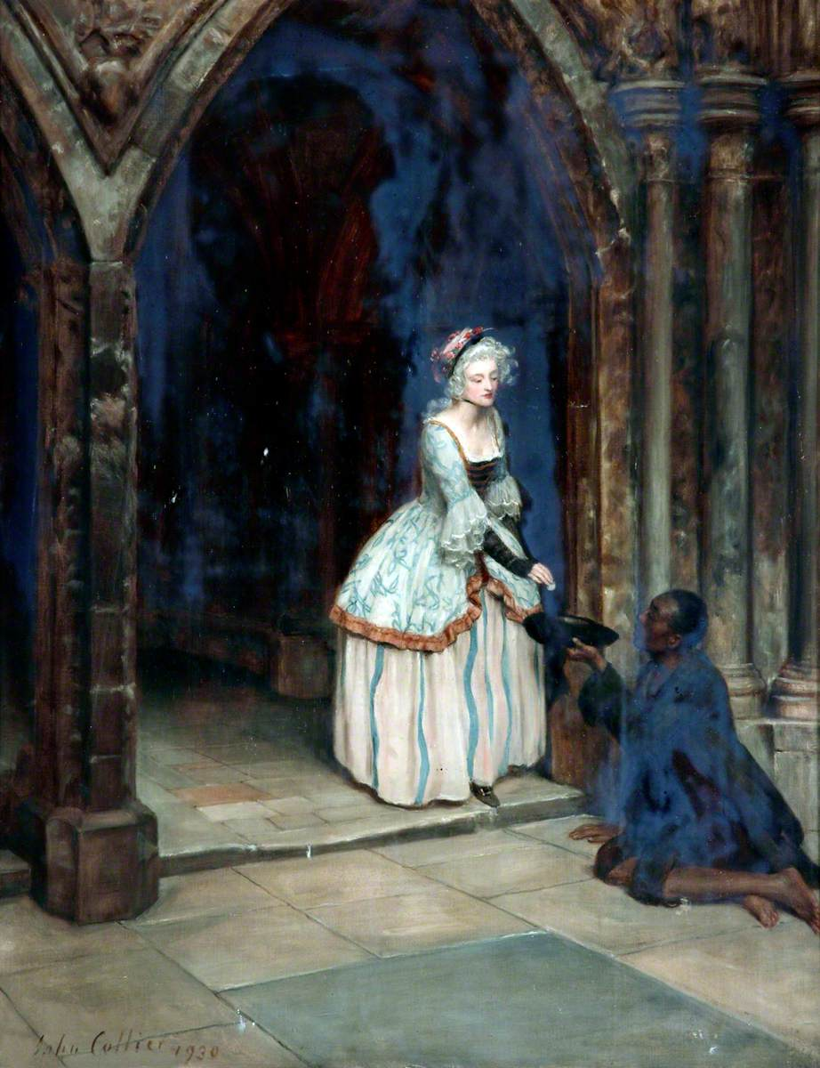 John Collier - The Beggar Man .jpg