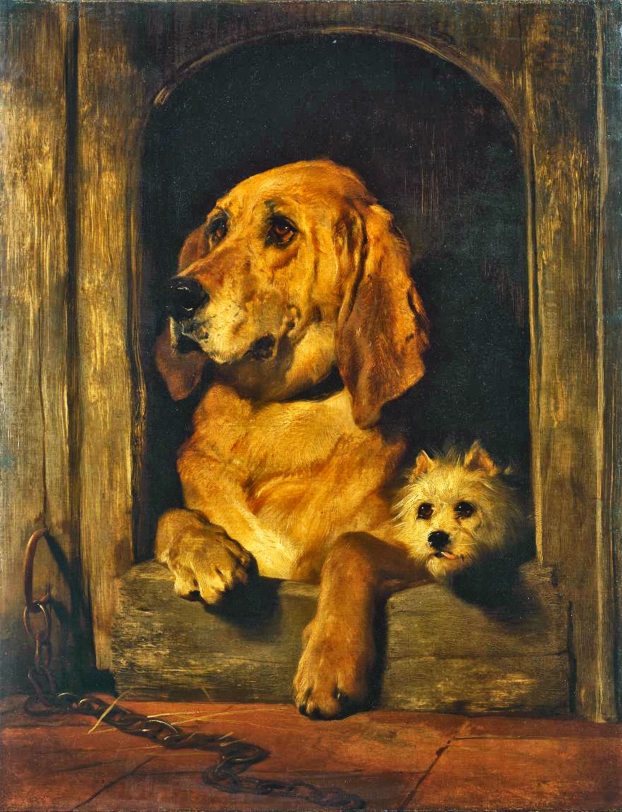 Sir Edwin Henry Landseer, Dignity and Impudence