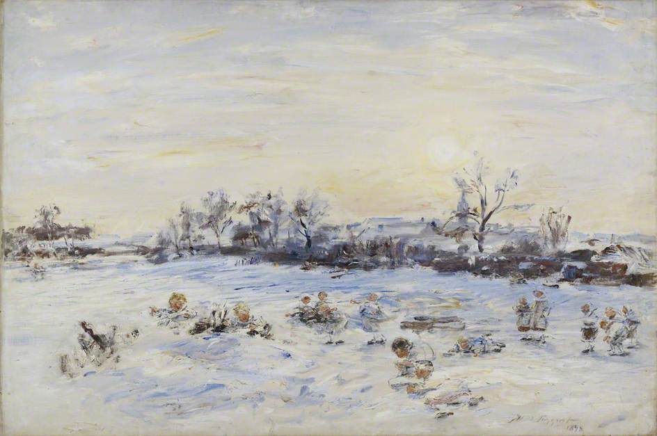 William McTaggart, Christmas Day