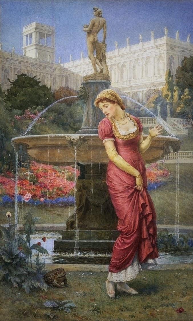 Edward Frederick Brewtnall, The Princess and the Frog Prince