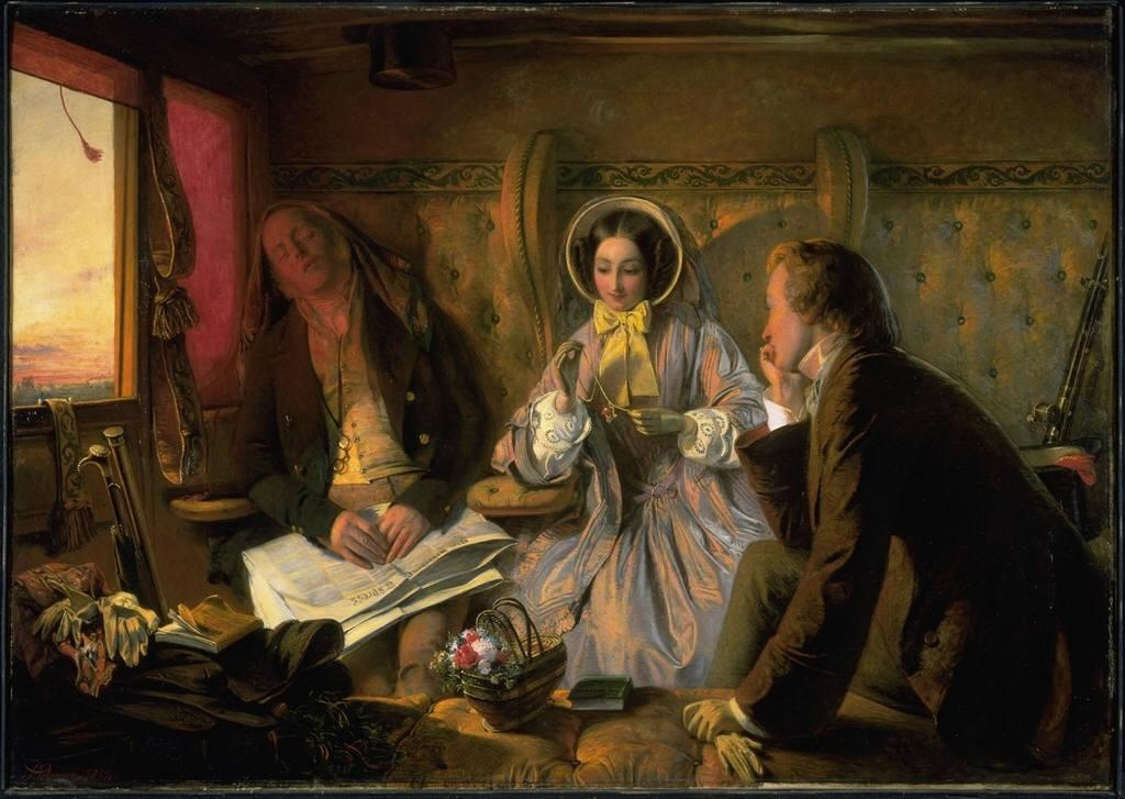 Abraham Solomon, First Class, The Meeting