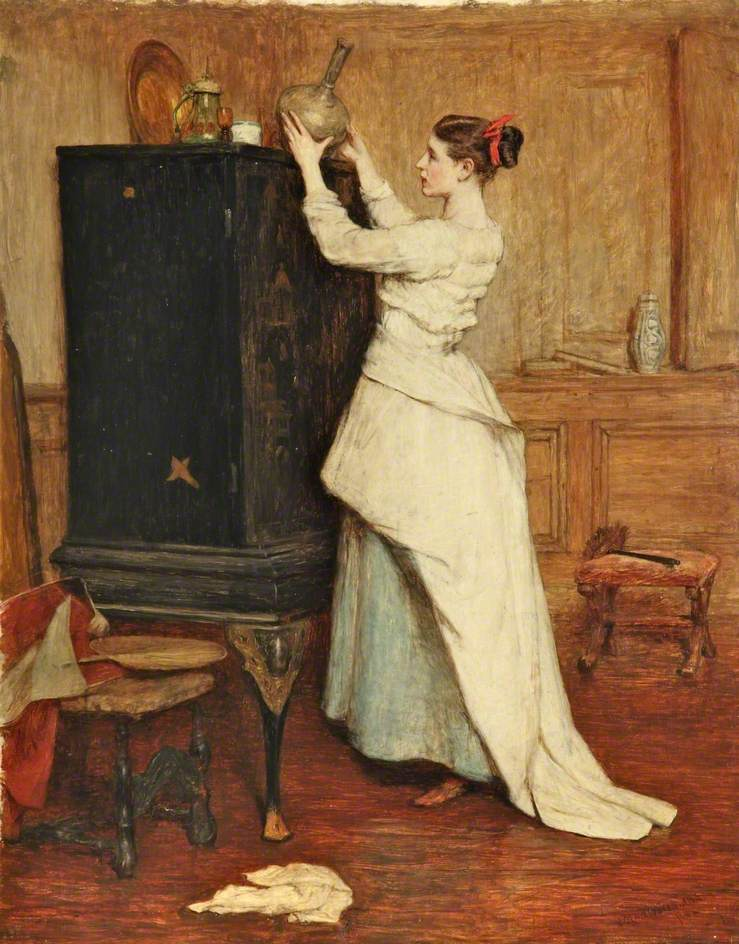 Sir William Quiller Orchardson, The Chinese Cabinet