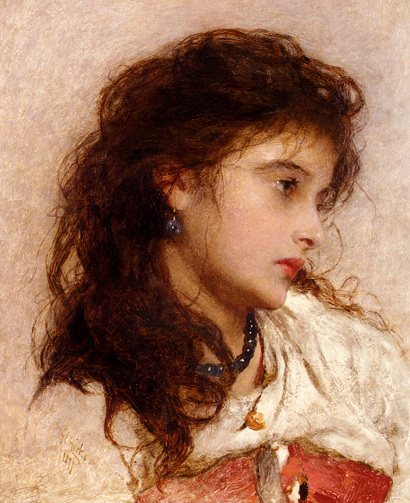 George Elgar Hicks, A Gypsy Girl