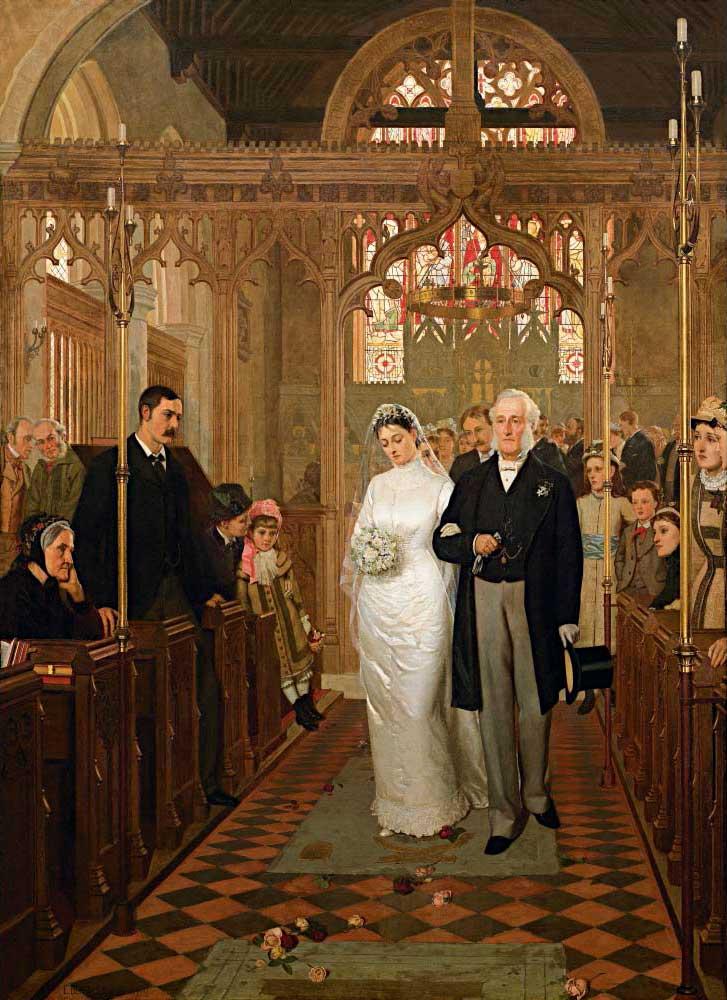 Edmund Blair Leighton, Till Death Do Us Part