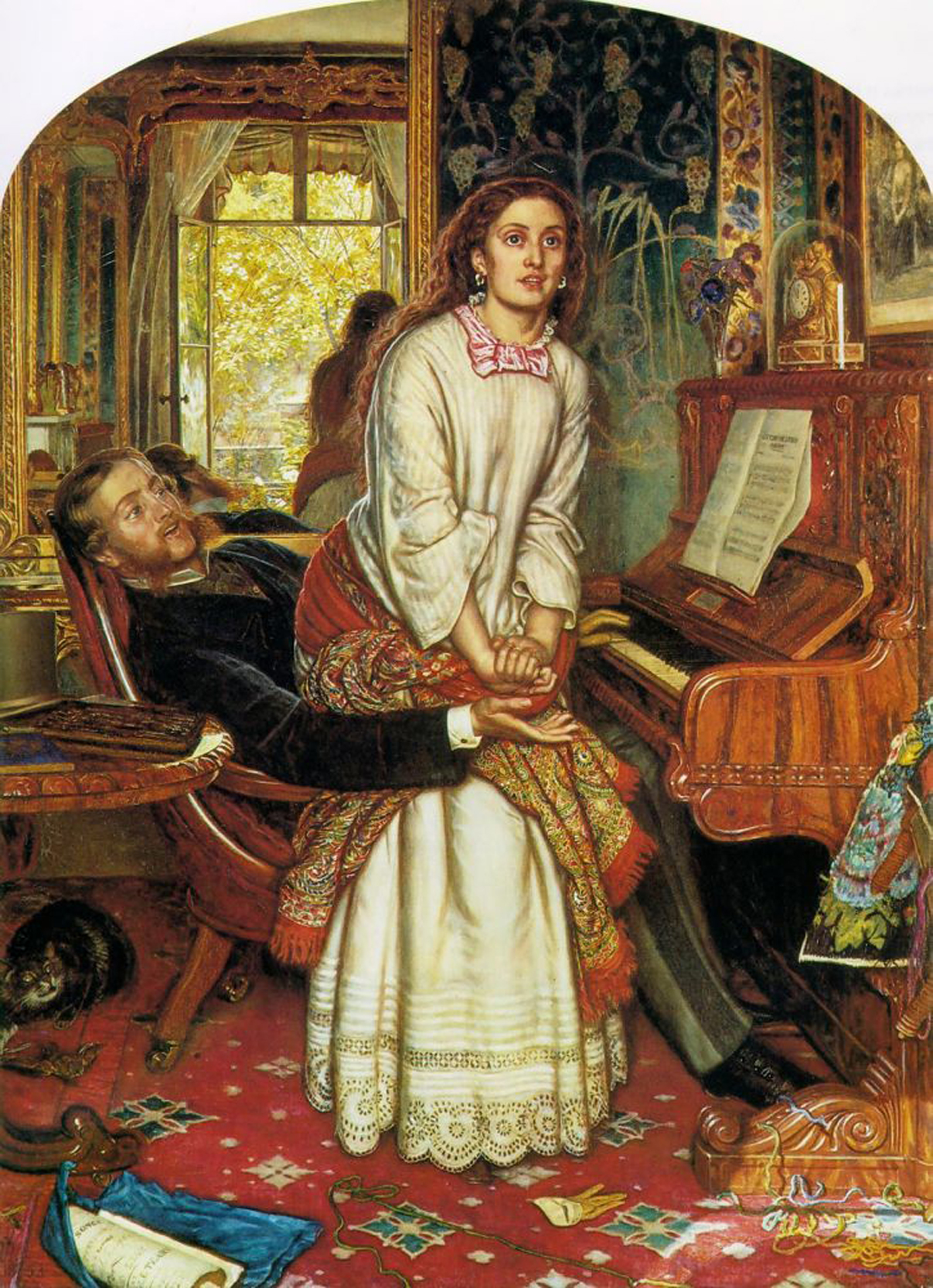 William Holman Hunt, The Awakening Conscience