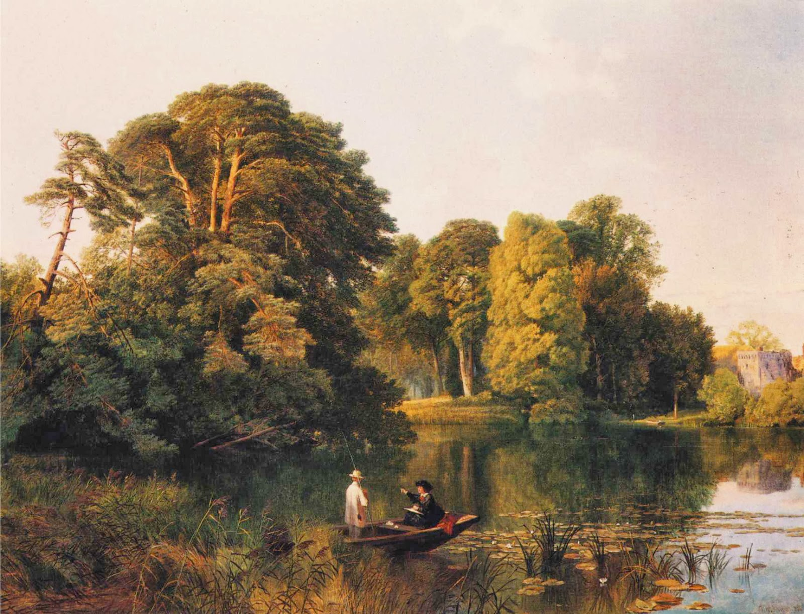 Frederick William Hulme, A Quiet Retreat, Surrey