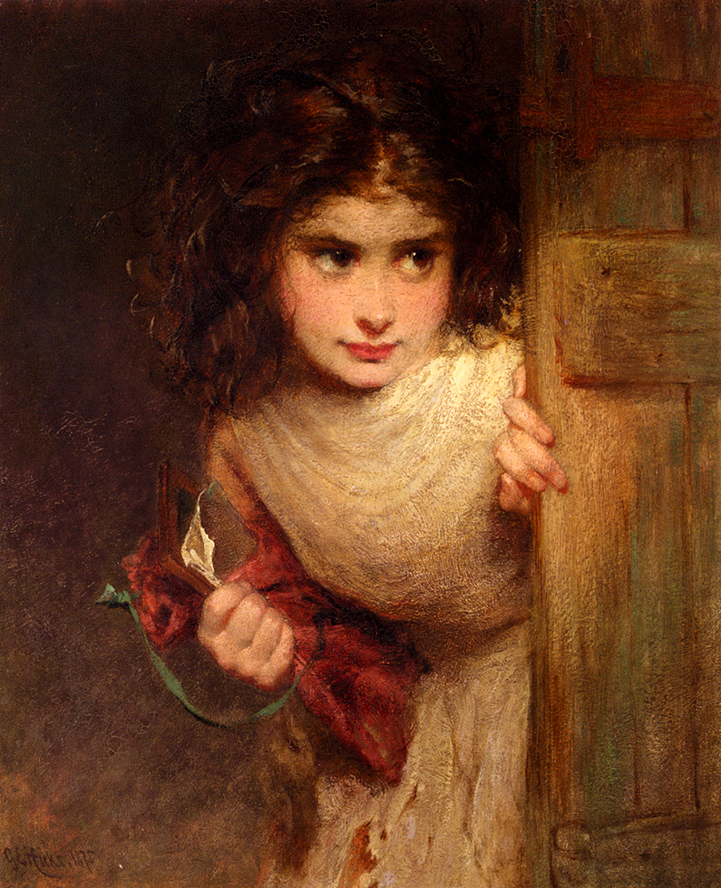 George Elgar Hicks, Home From School