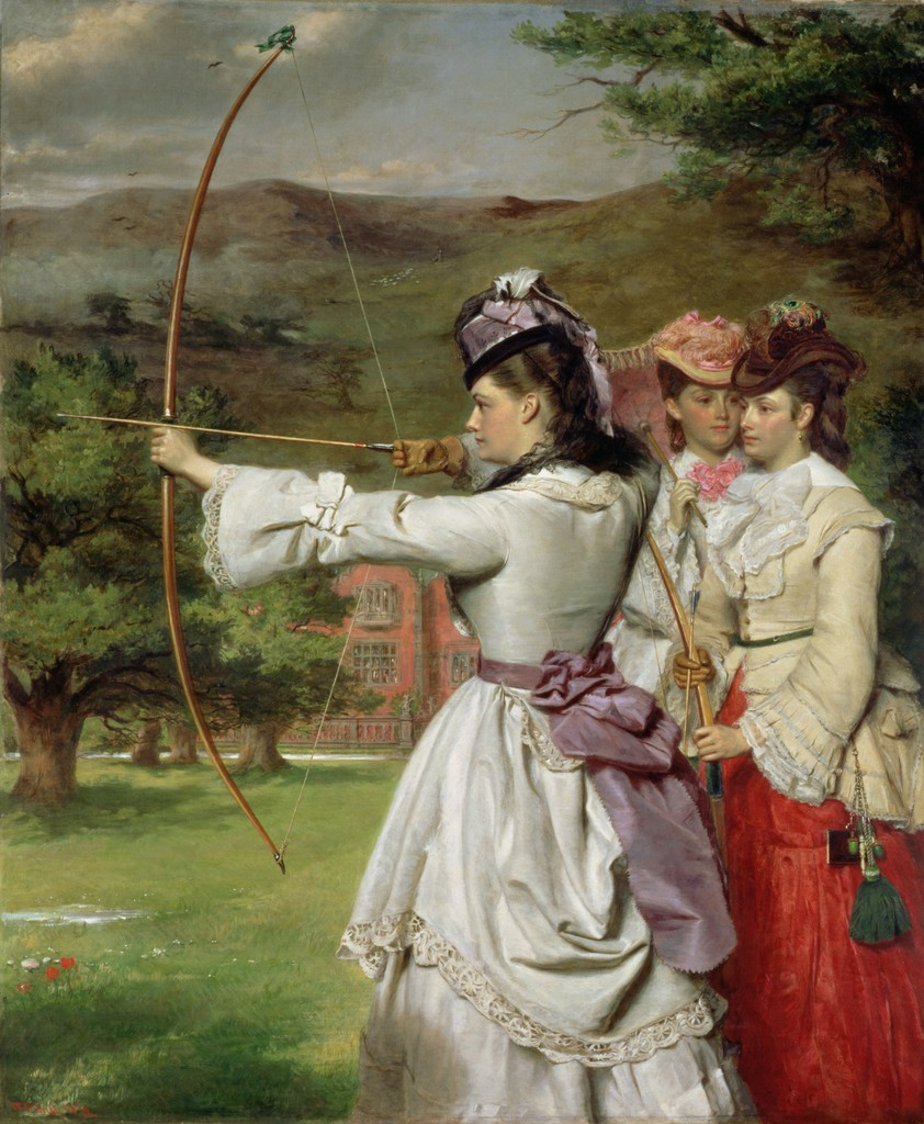 William Powell Frith, The Fair Toxophilites