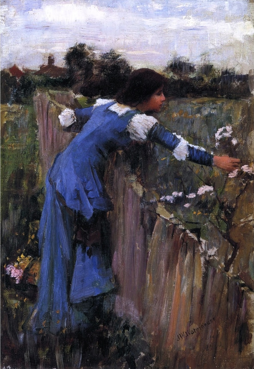 John William Waterhouse, The Flowerpicker