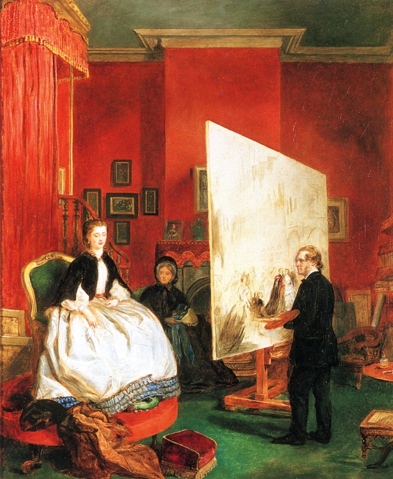 John Ballantyne, William Powell Frith Painting the Princess of Wales