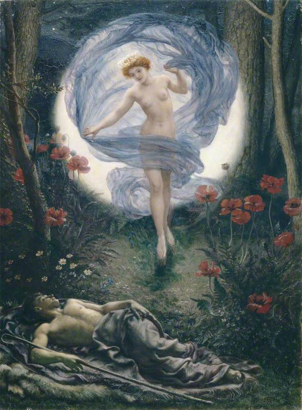 Edward John Poynter, Diana and Endymion