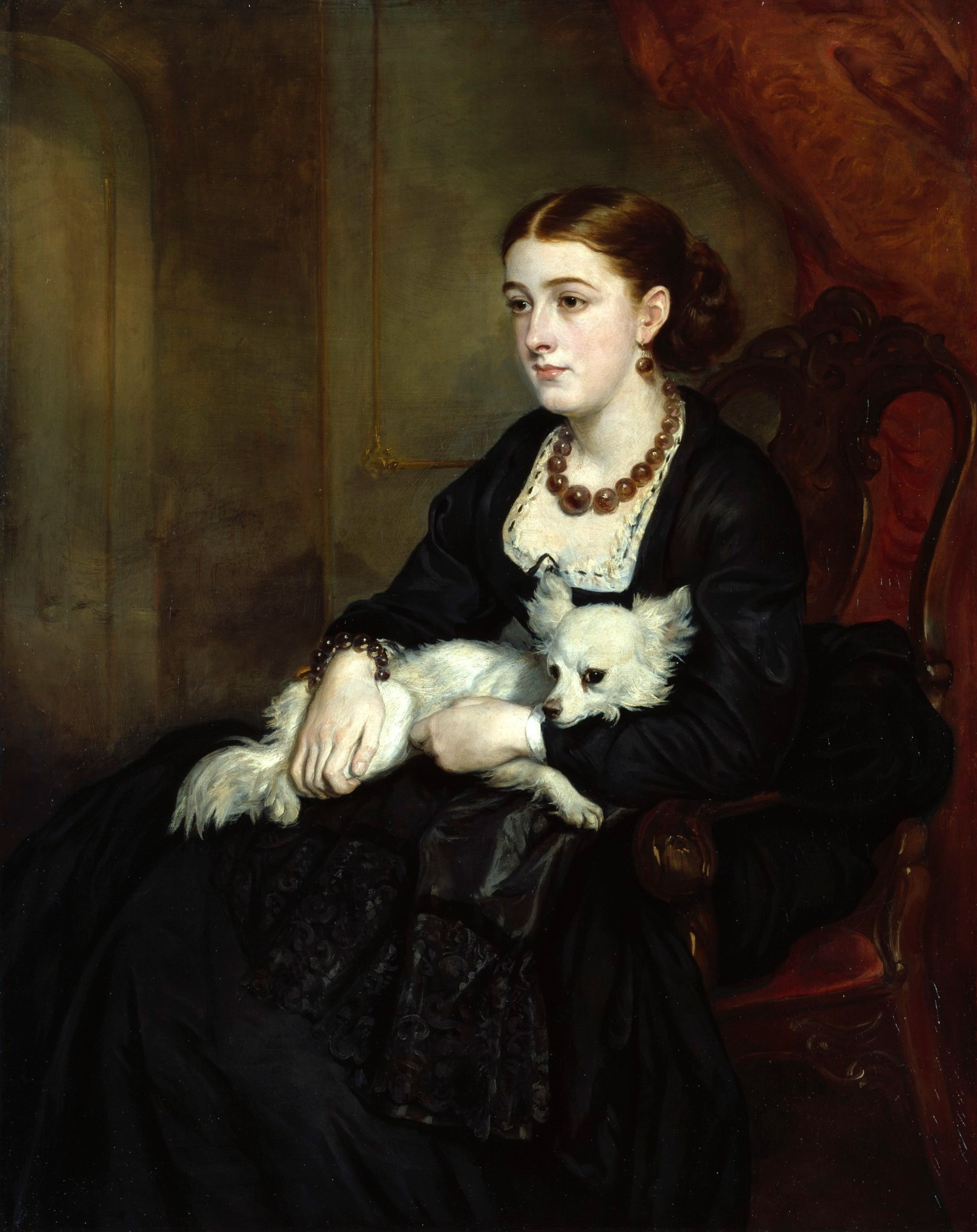Sir Francis Grant, Portrait of Miss Grant, the Artist's Daughter