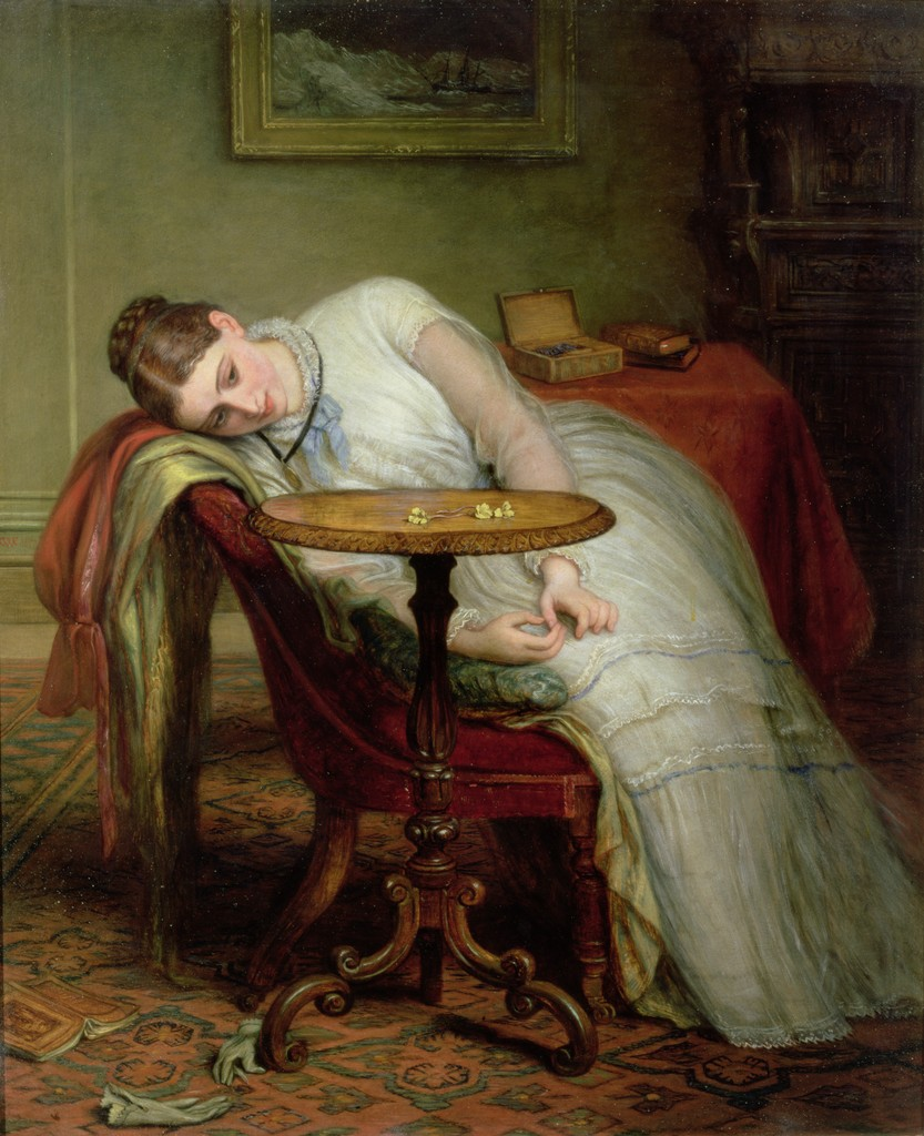 Charles West Cope, Hope Deferred, and Hopes and Fears that Kindle Hope
