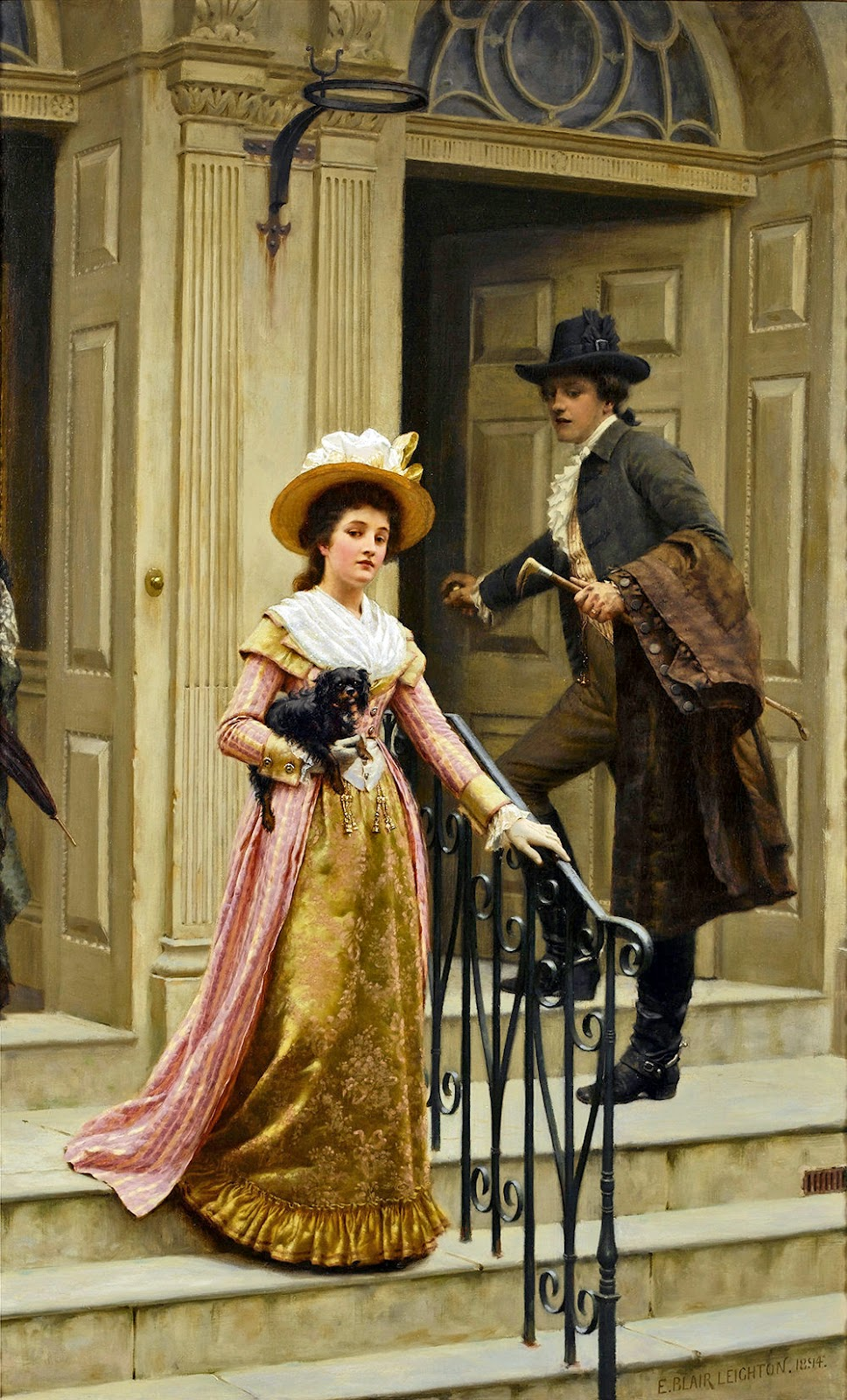 Edmund Blair Leighton, Our Next-Door Neighbor