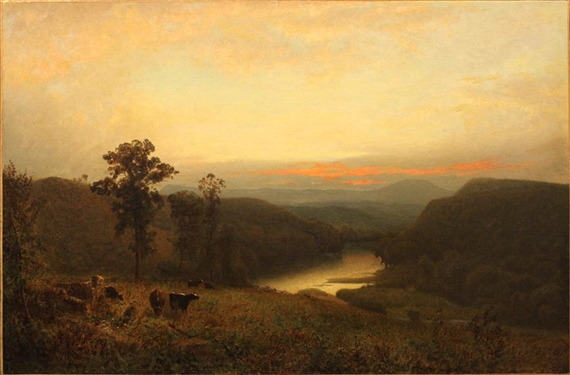 Alexander Wyant, Potomac River by Hancock Point