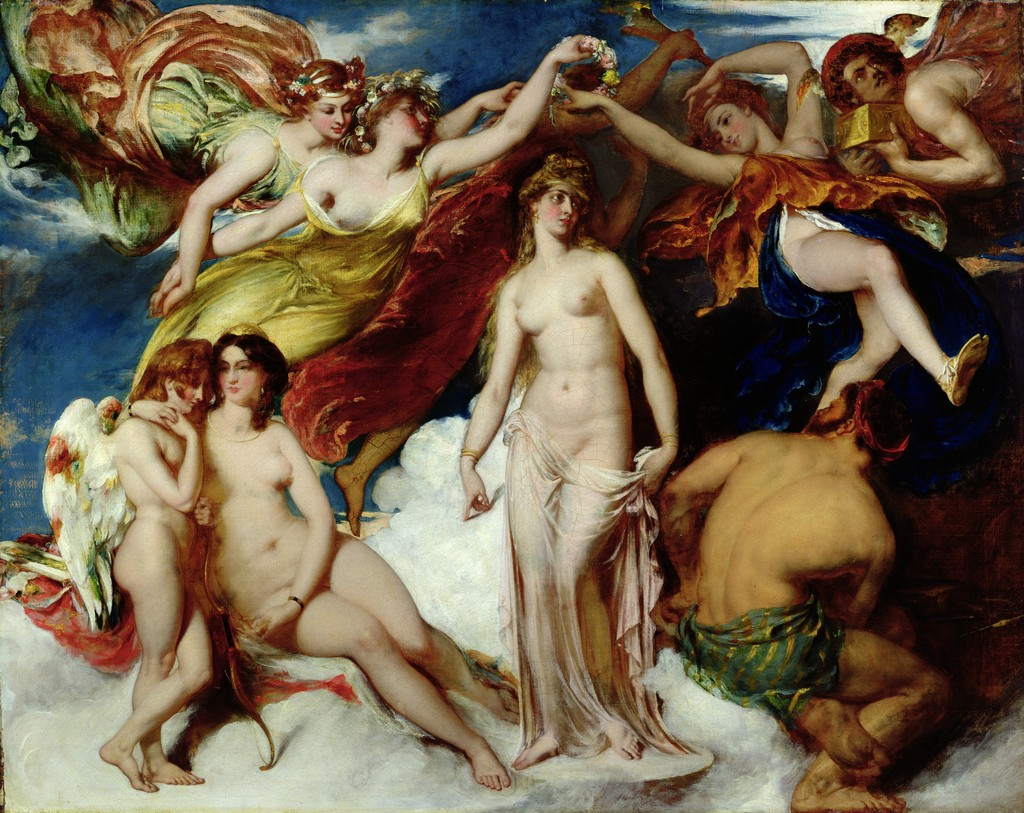 William Etty, Pandora Crowned by the Seasons