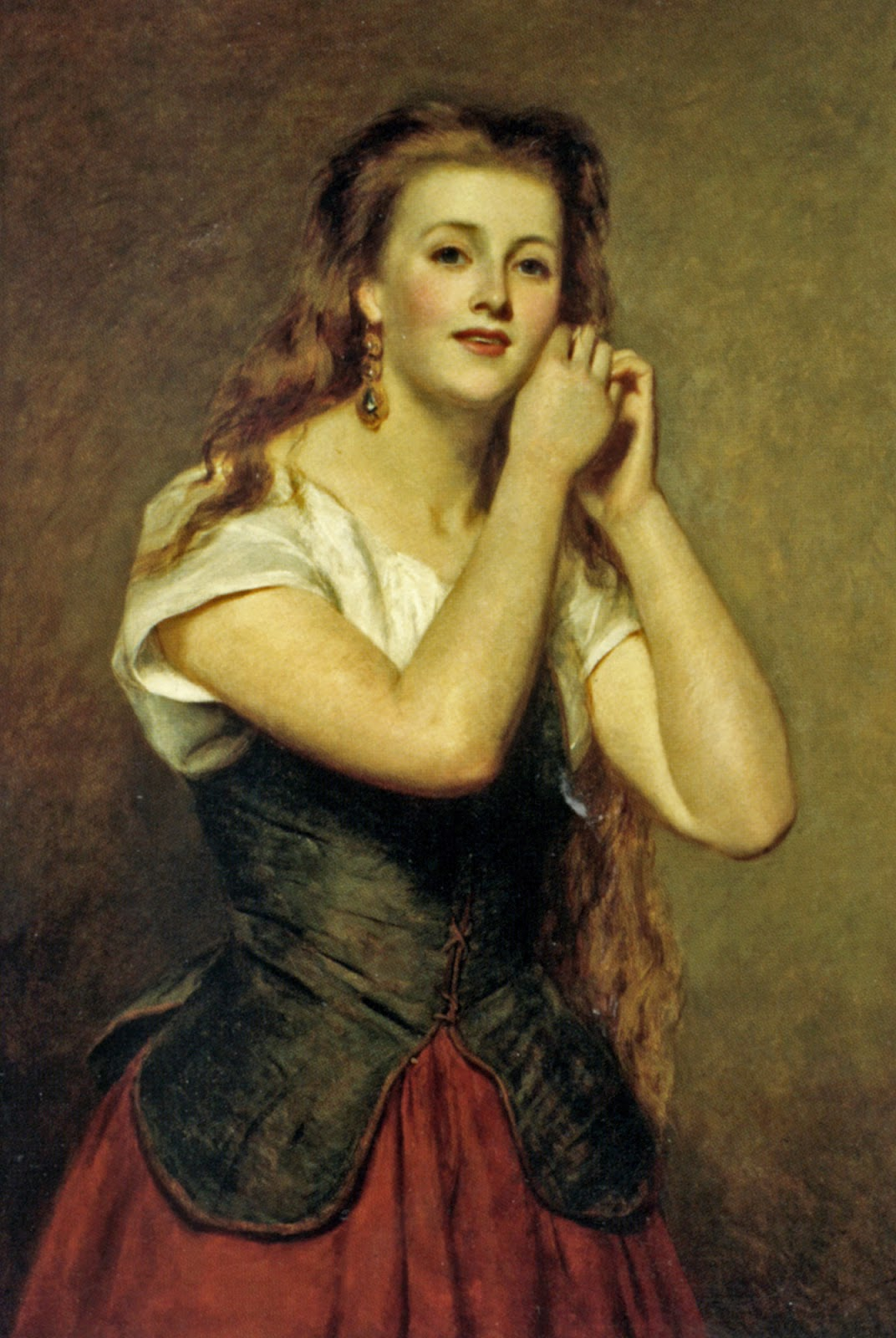 William Powell Frith, The New Earrings