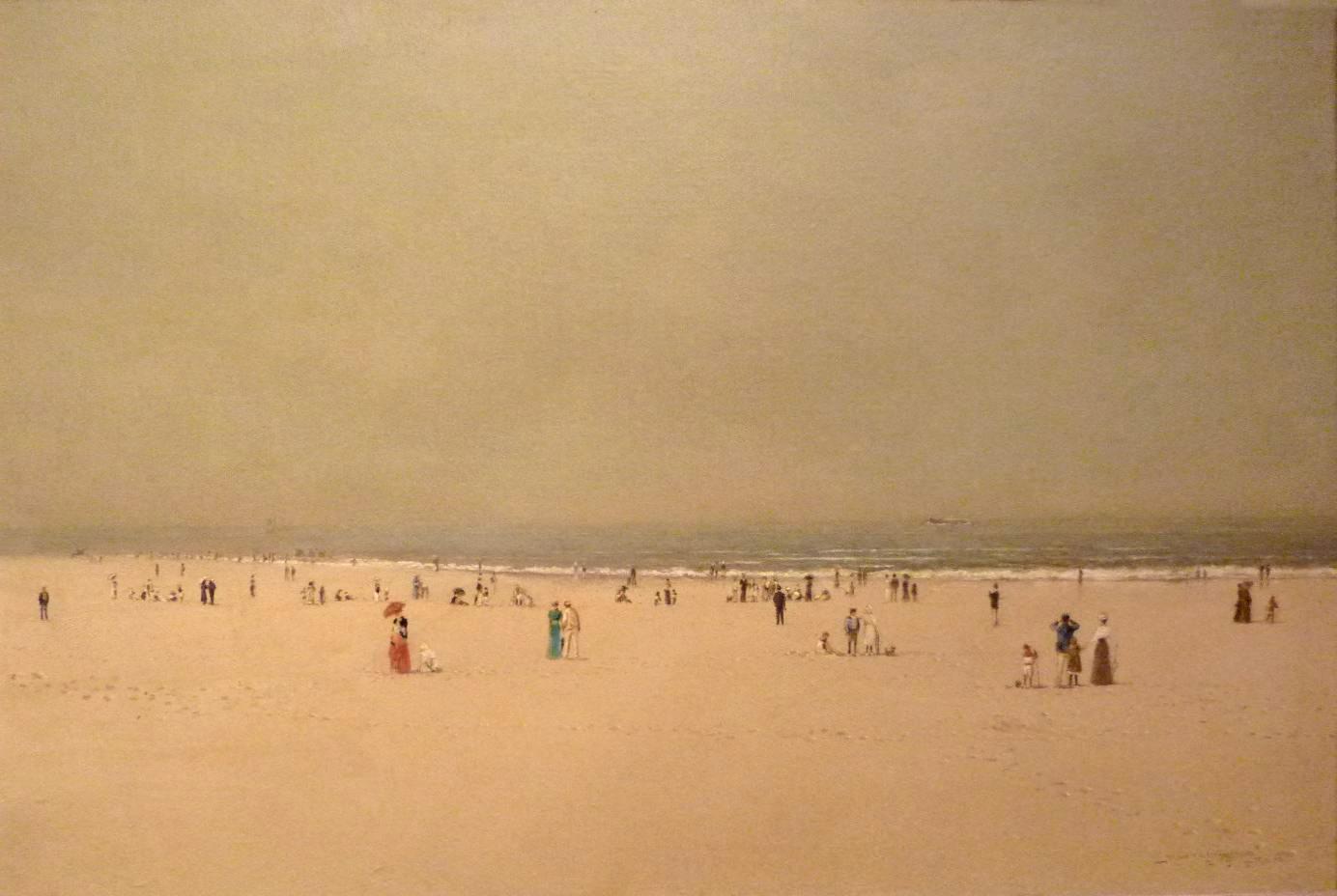 John Atkinson Grimshaw, Scarborough Beach