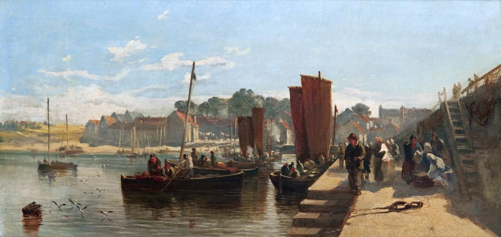 Samuel Bough, Port Glasgow Harbour