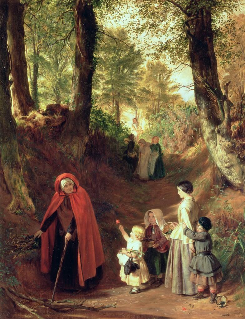 John Callcott Horsley, Youth and Age