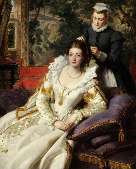 William Powell Frith, The Toilet