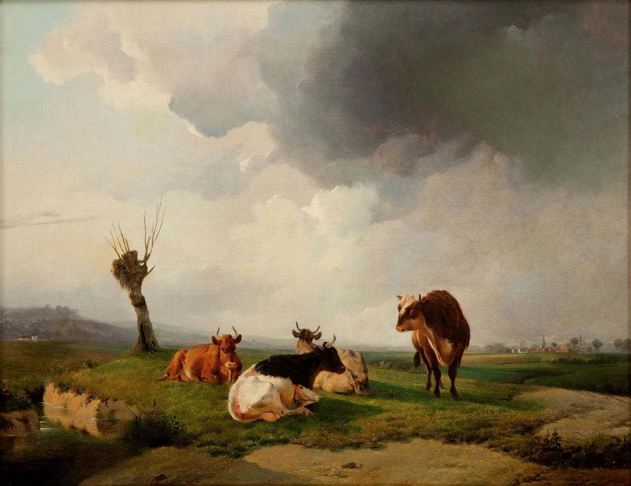 Thomas Sidney Cooper, Cattle in Canterbury Meadows