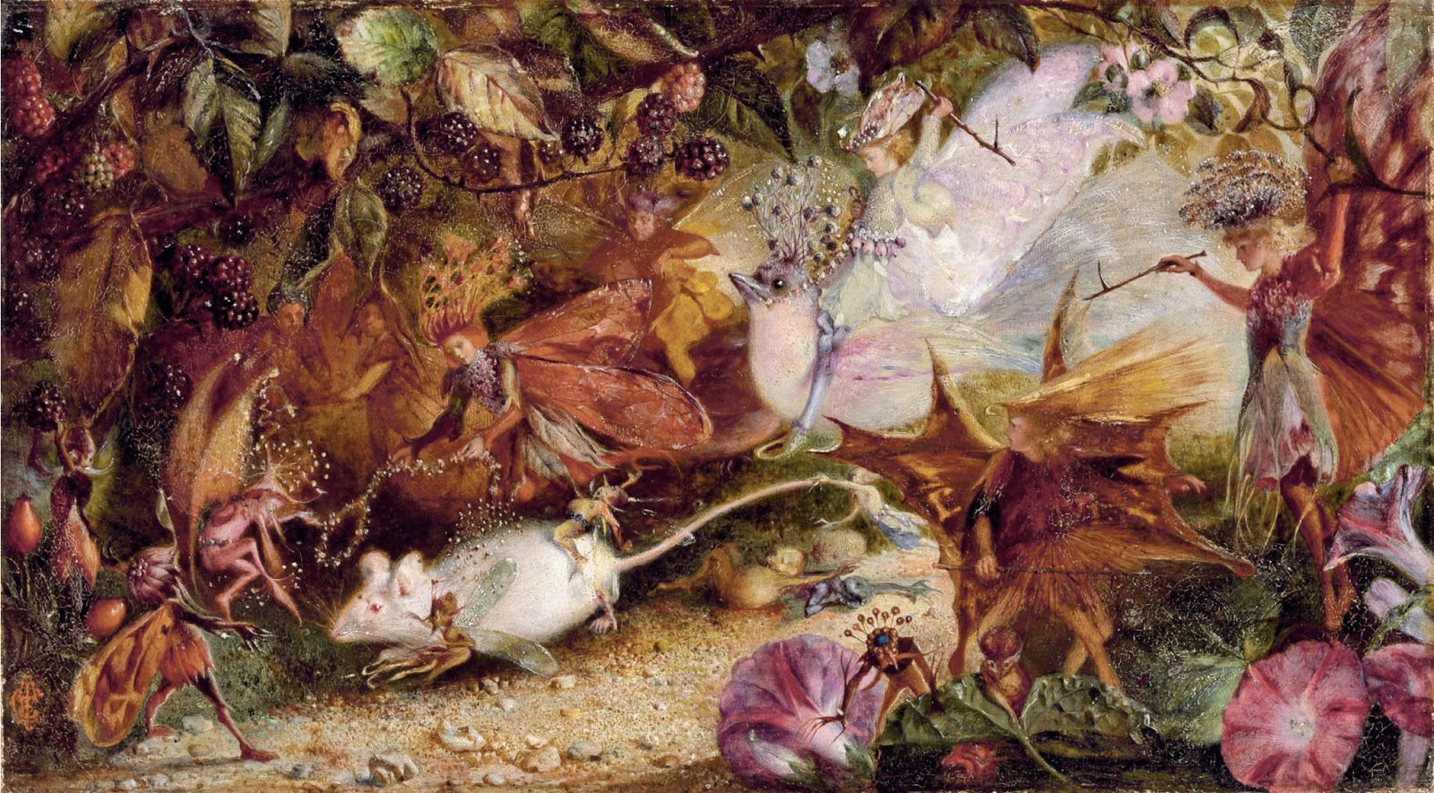 John Anster Fitzgerald, The Chase of the White Mouse