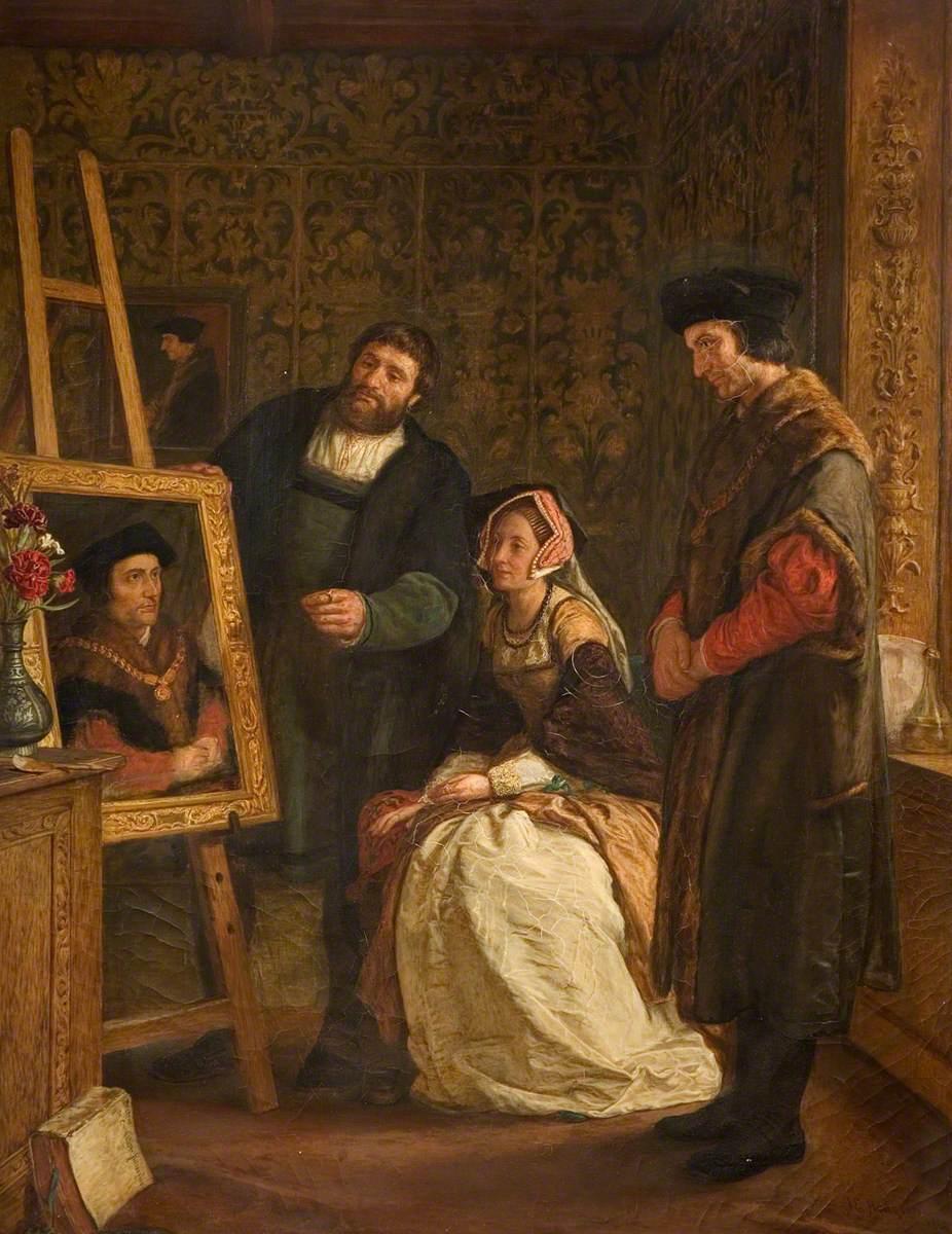 John Evans Hodgson, Holbein's Studio