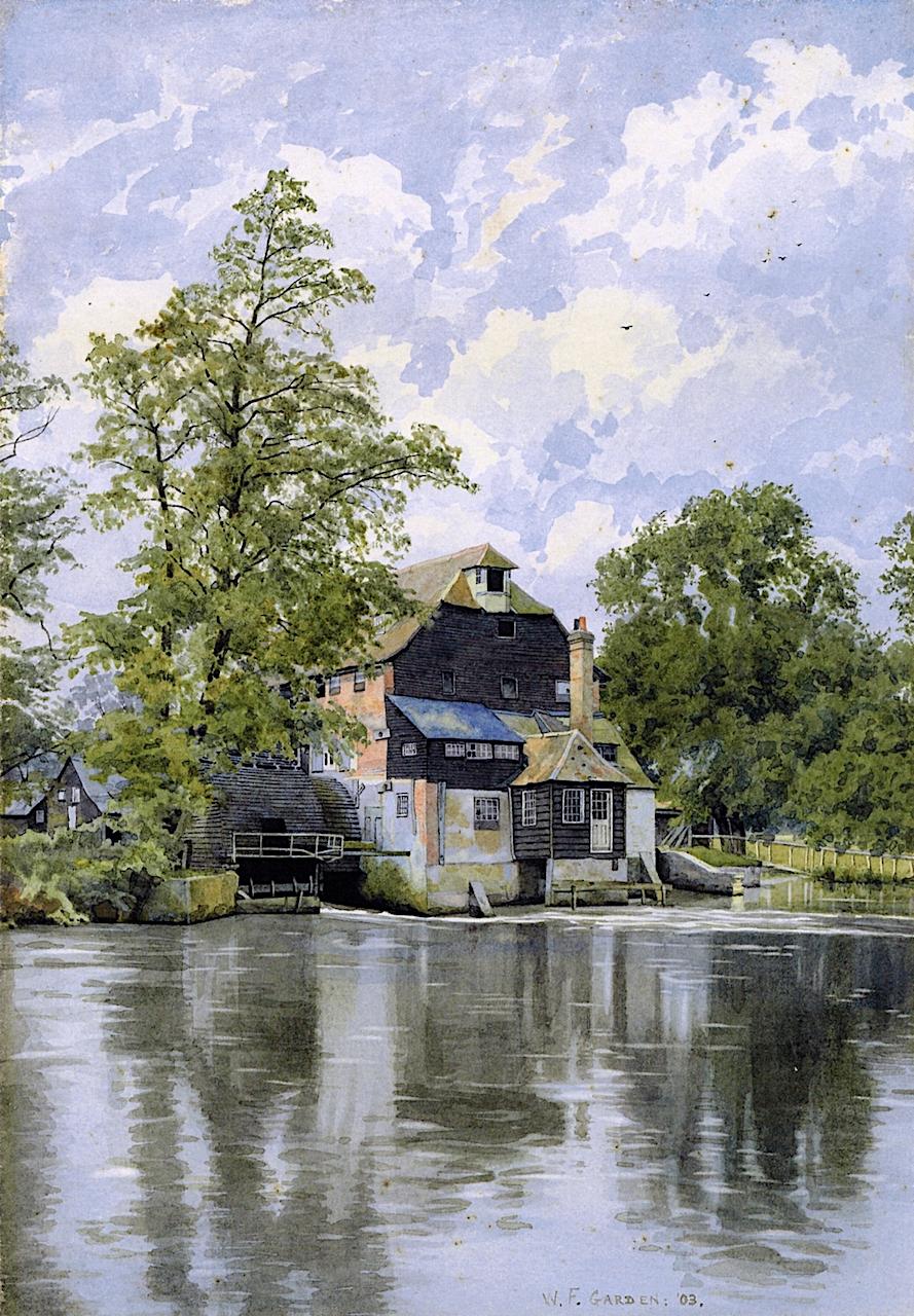 William Fraser Garden, Houghton Mill