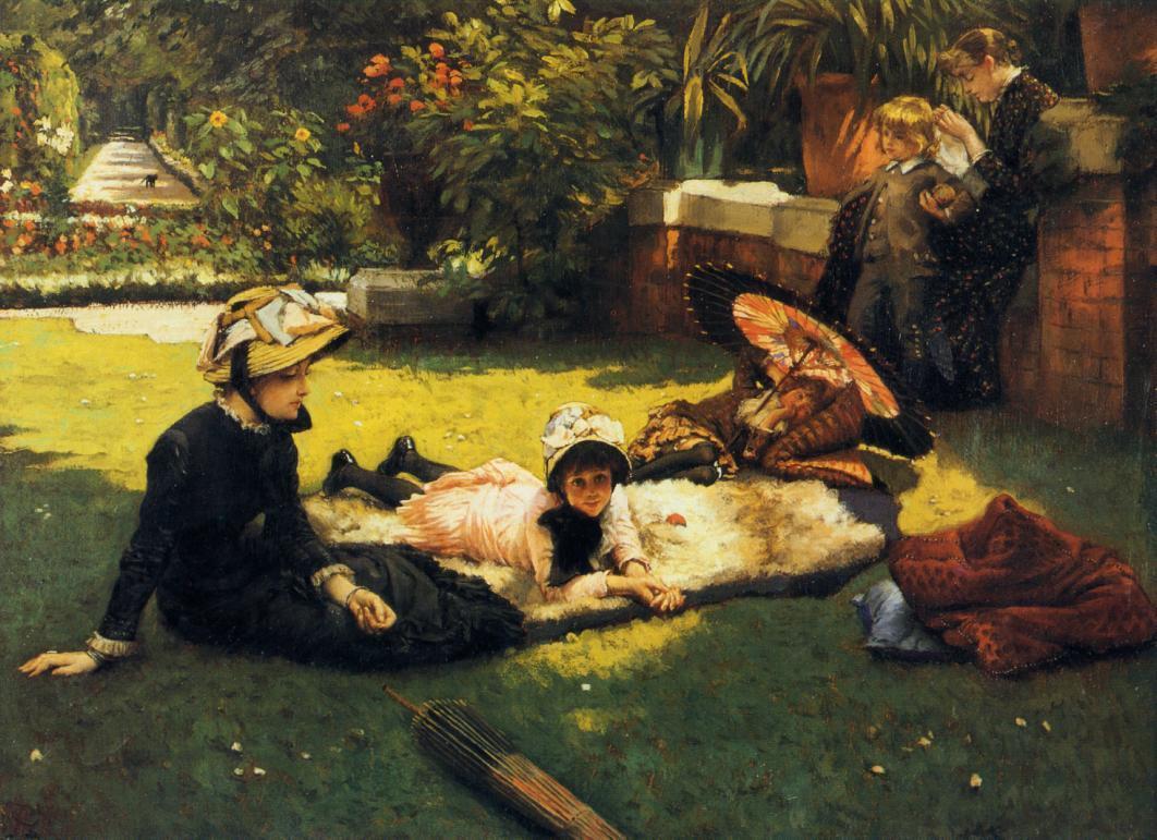 James Jacques Joseph Tissot, In the Sunshine