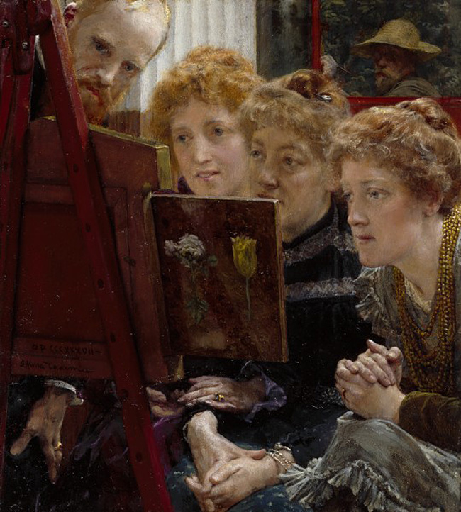 Sir Lawrence Alma-Tadema, A Family Group
