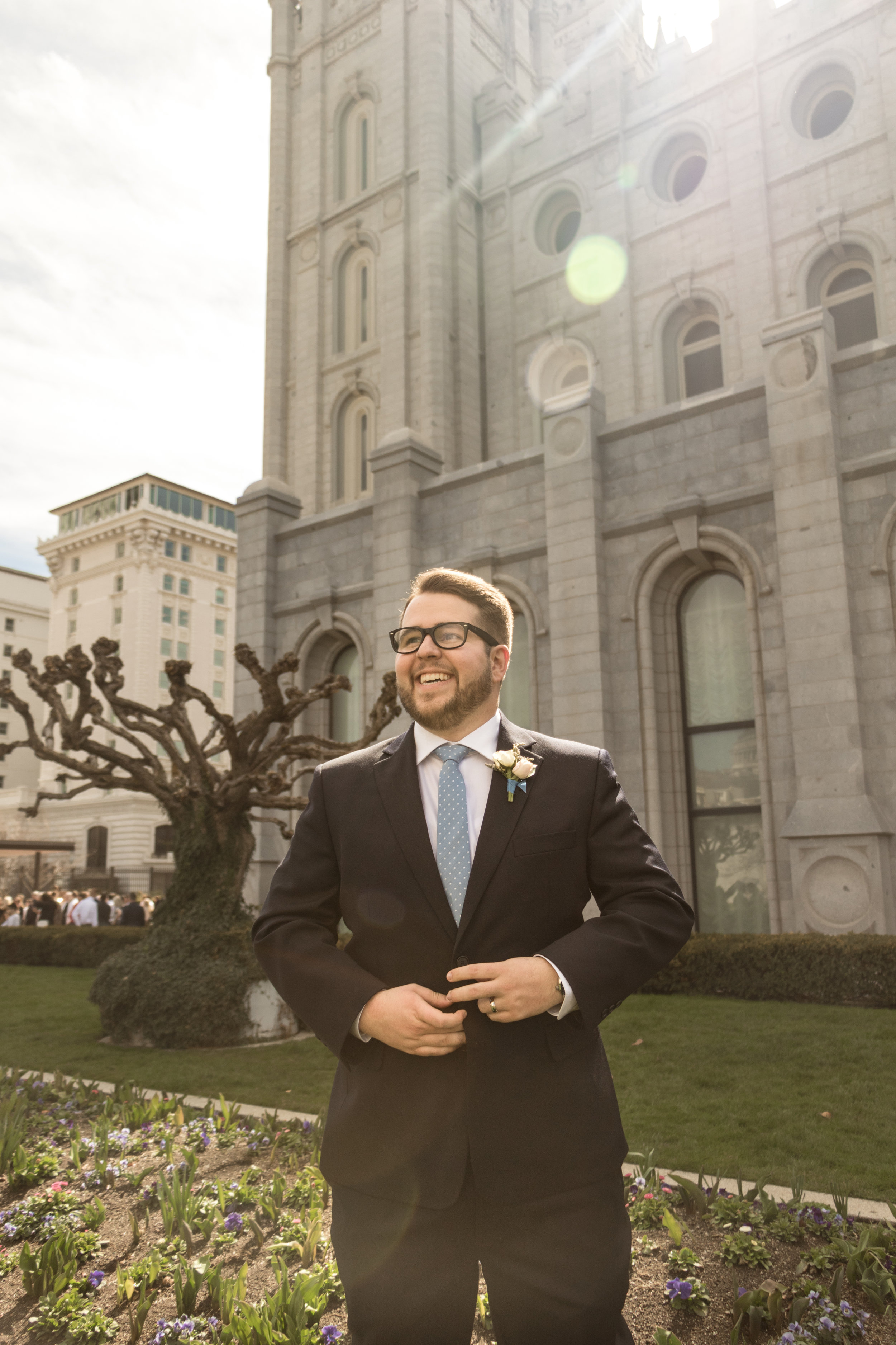 Utah Spring Wedding at the Salt Lake City Temple by Bri Bergman Photography13.JPG
