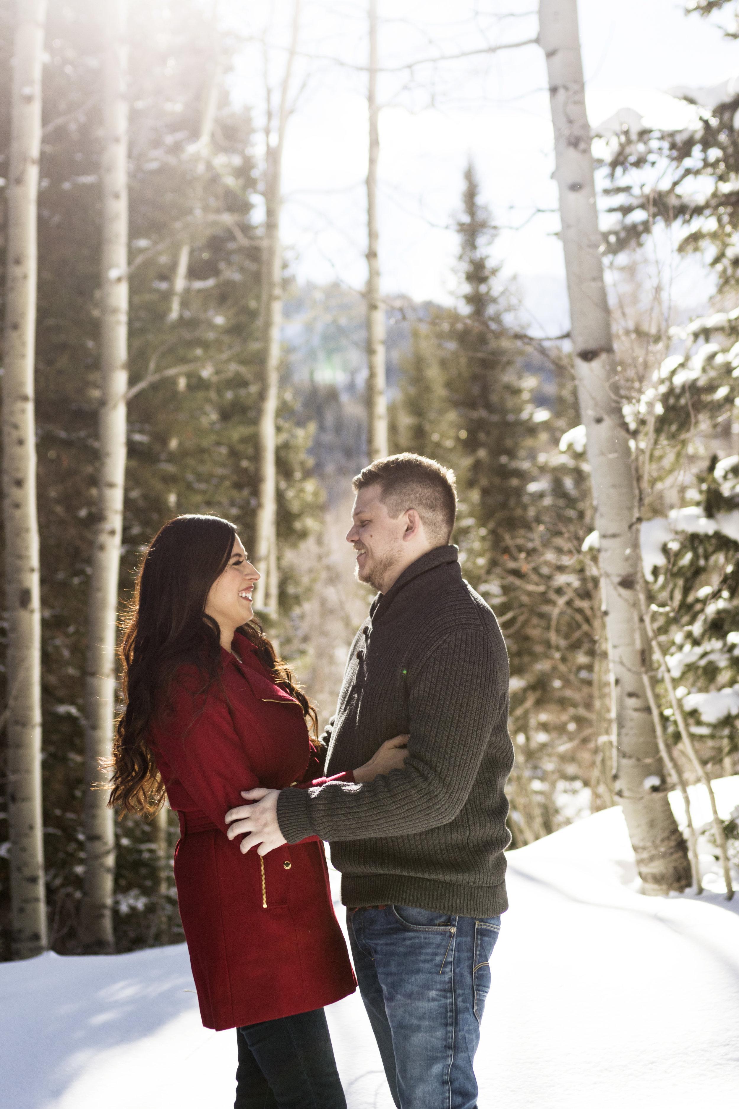 Snowey Utah Winter Engagements in Little Cottonwood Canyon by Bri Bergman Photography01.jpg