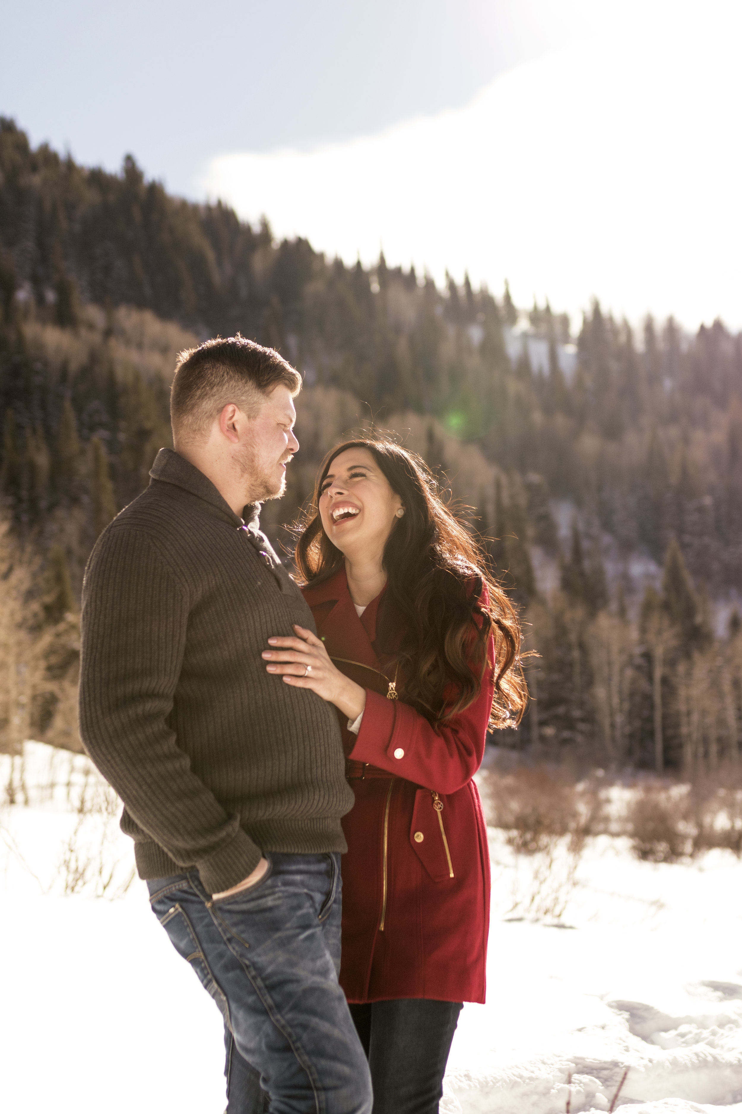 Snowey Utah Winter Engagements in Little Cottonwood Canyon by Bri Bergman Photography07.jpg