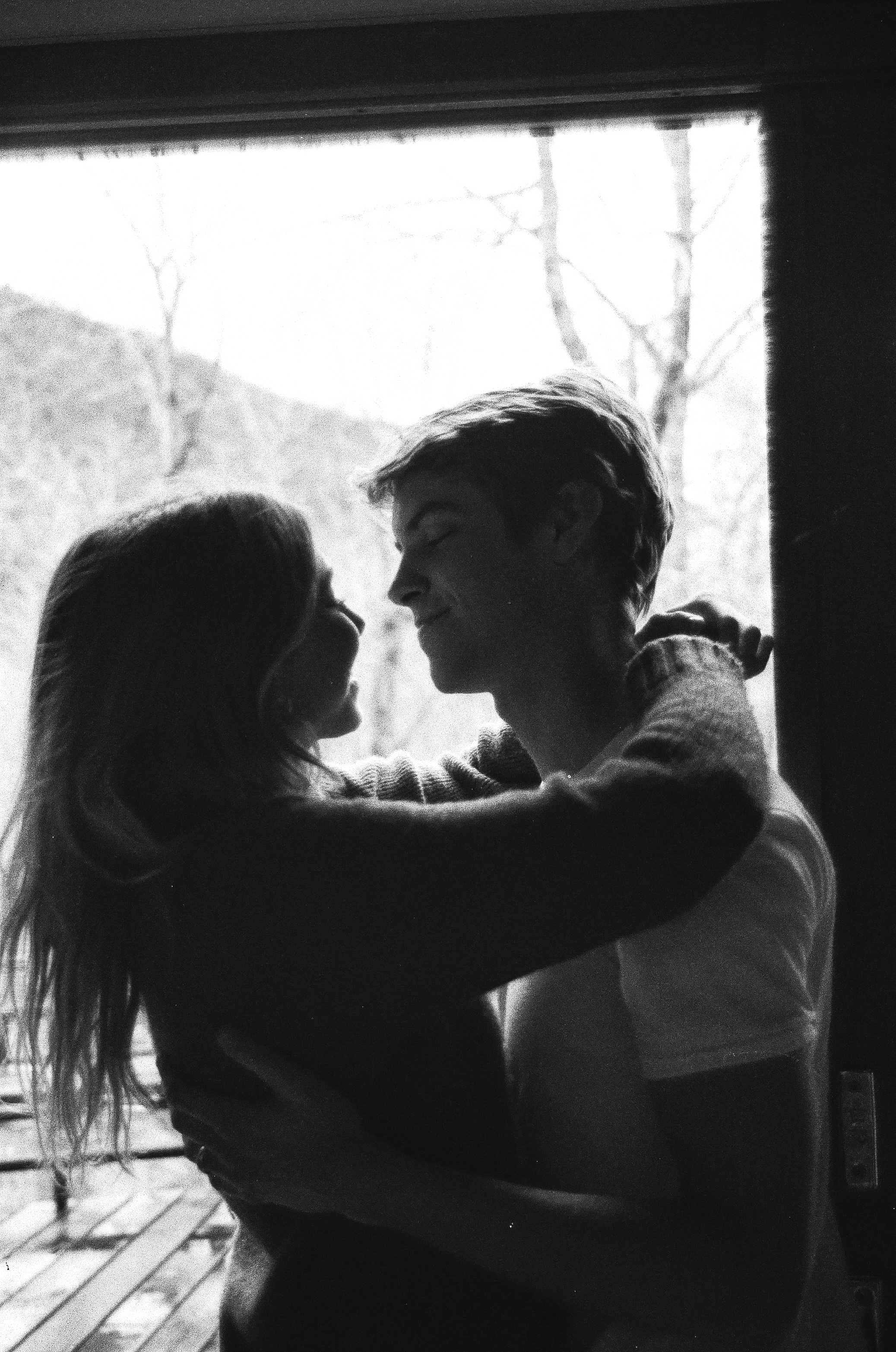 Utah in home couples session in a cute little A Frame Cabin by Bri Bergman Photography23.JPG