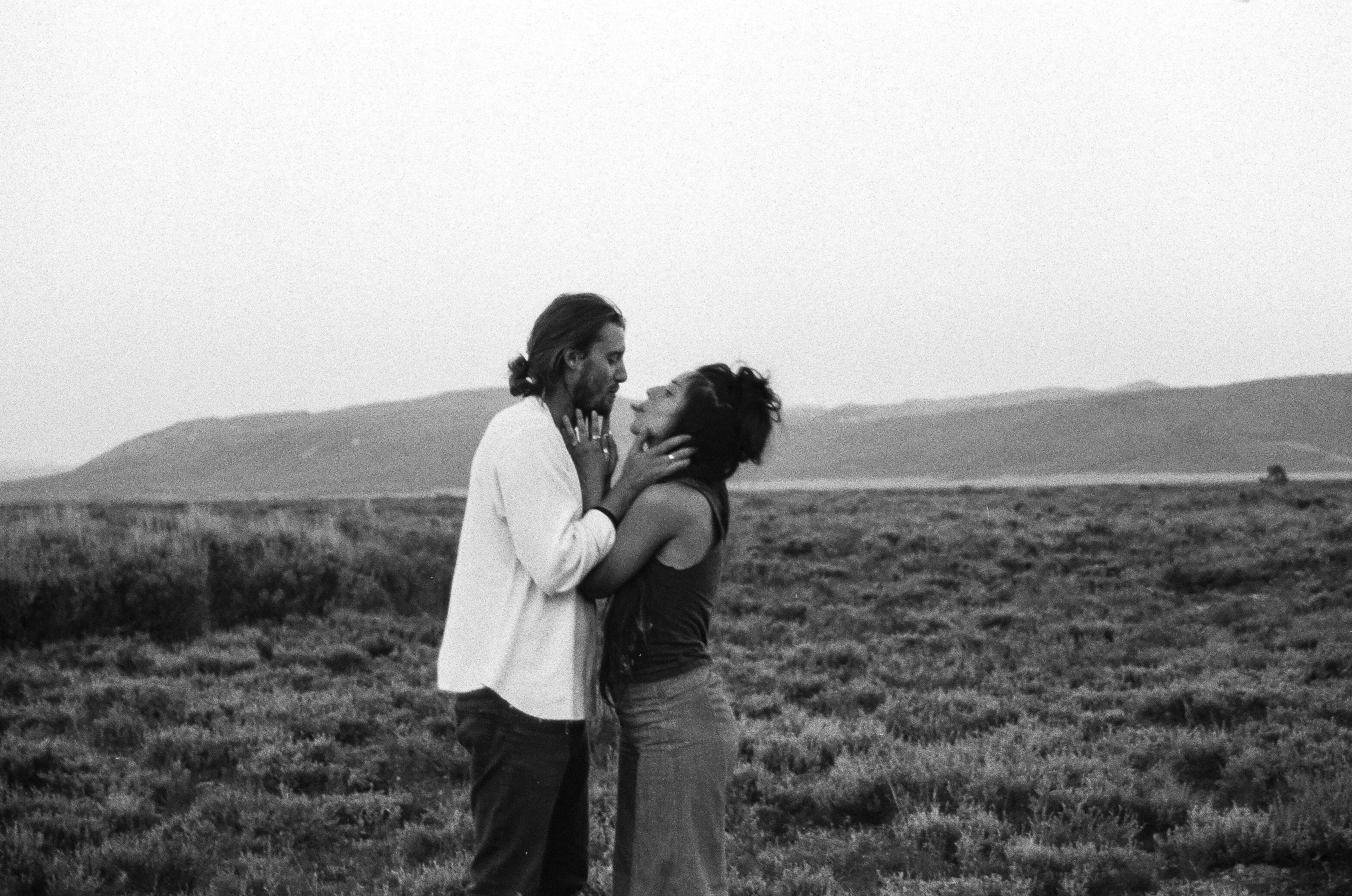 Adventurous love in Teton National Park by Bri Bergman Photography