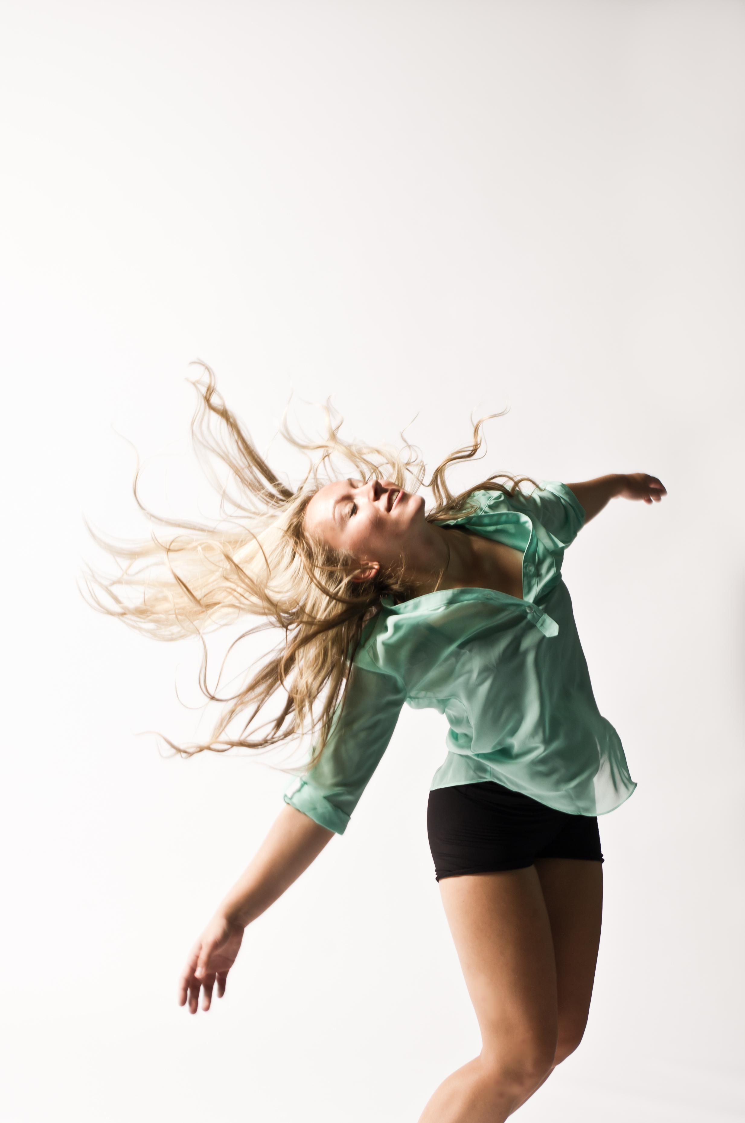 Bri Bergman dance action shots by CP Rowe Photography
